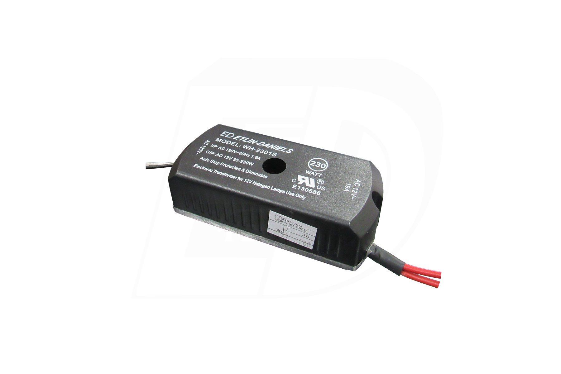 Et 60 1 F C Etlin Daniels Soft Start For 12 Volt Halogen Lamps Wh 2301e6a
