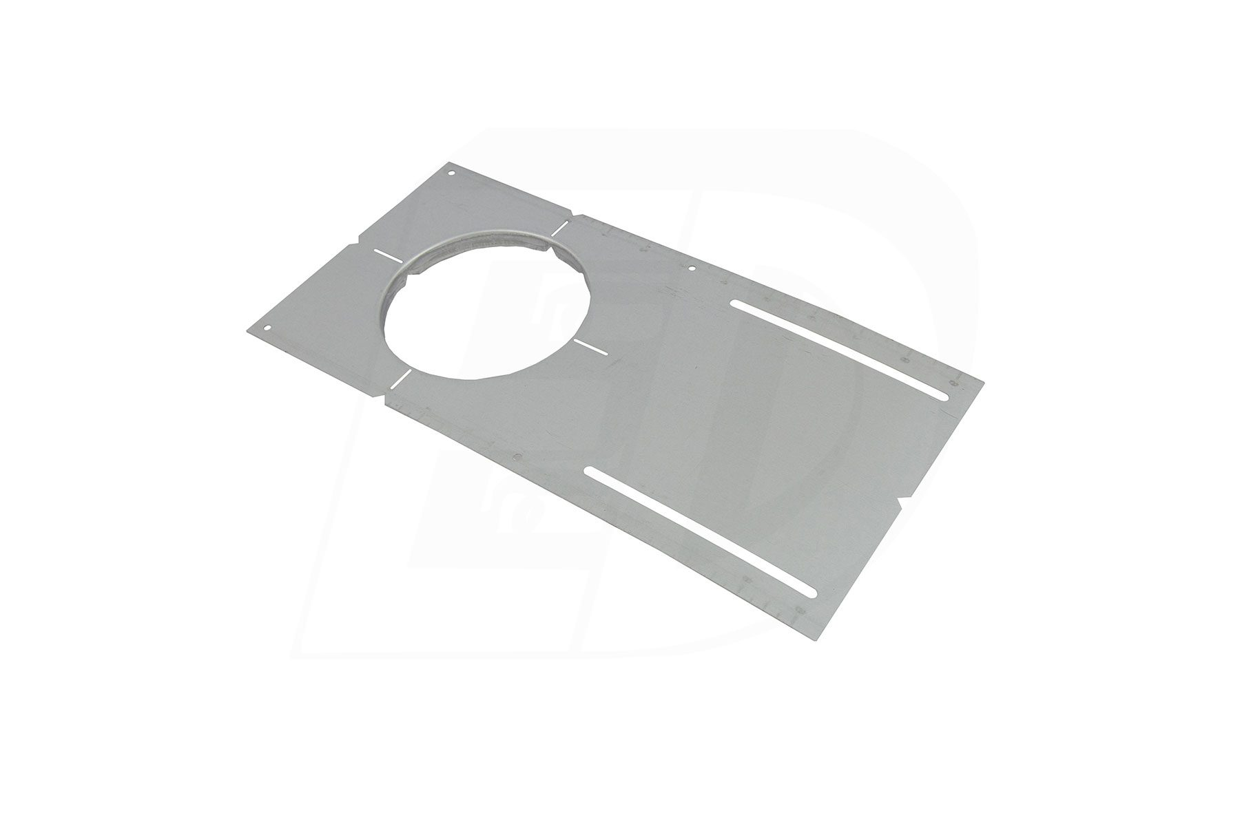 Round Hole Cut Pre-Mounting Plate for DLSR 6 Inch. Round Integrated LED Ultra Thin Color Selectable Canless Recessed Lighting