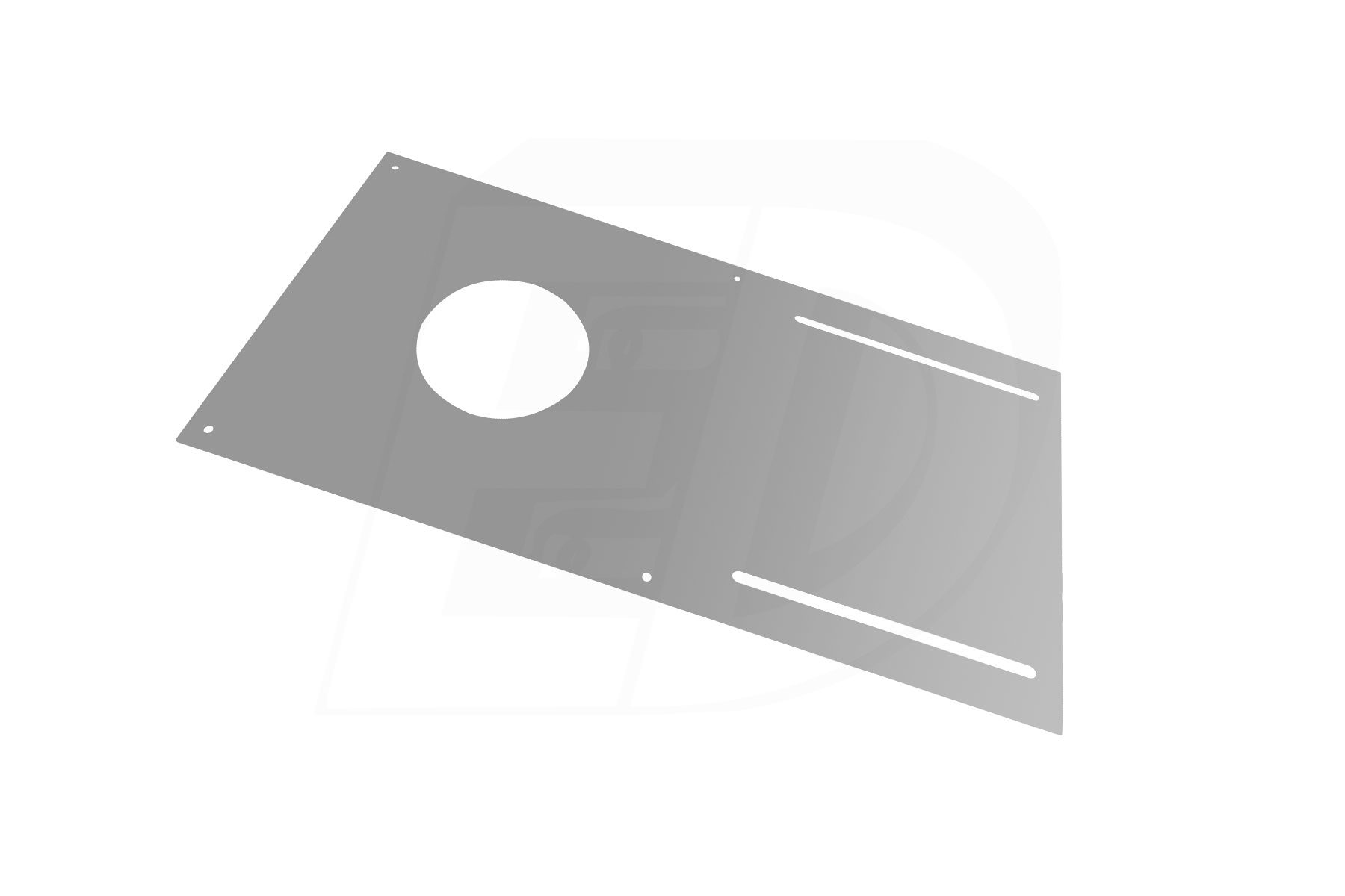 Round Hole Cut Pre-Mounting Plate for DLSGR 3 Inch. Round Integrated LED Gimbal Recessed Light
