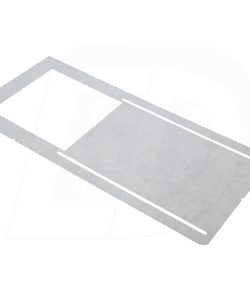 Square Hole Cut Pre-Mounting Plate for DLS 4 Inch. Square Integrated LED Ultra Thin Canless Recessed Lighting