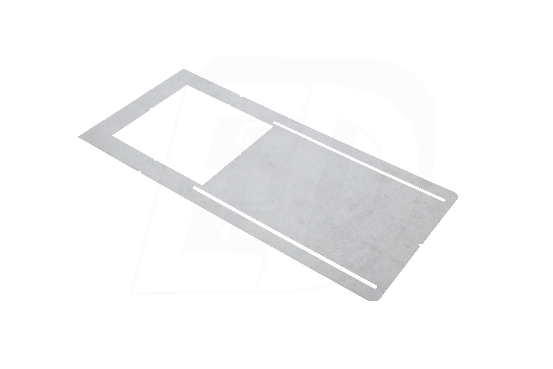Square Hole Cut Pre-Mounting Plate for DLS 6 Inch. Square Integrated LED Ultra Thin Canless Recessed Lighting
