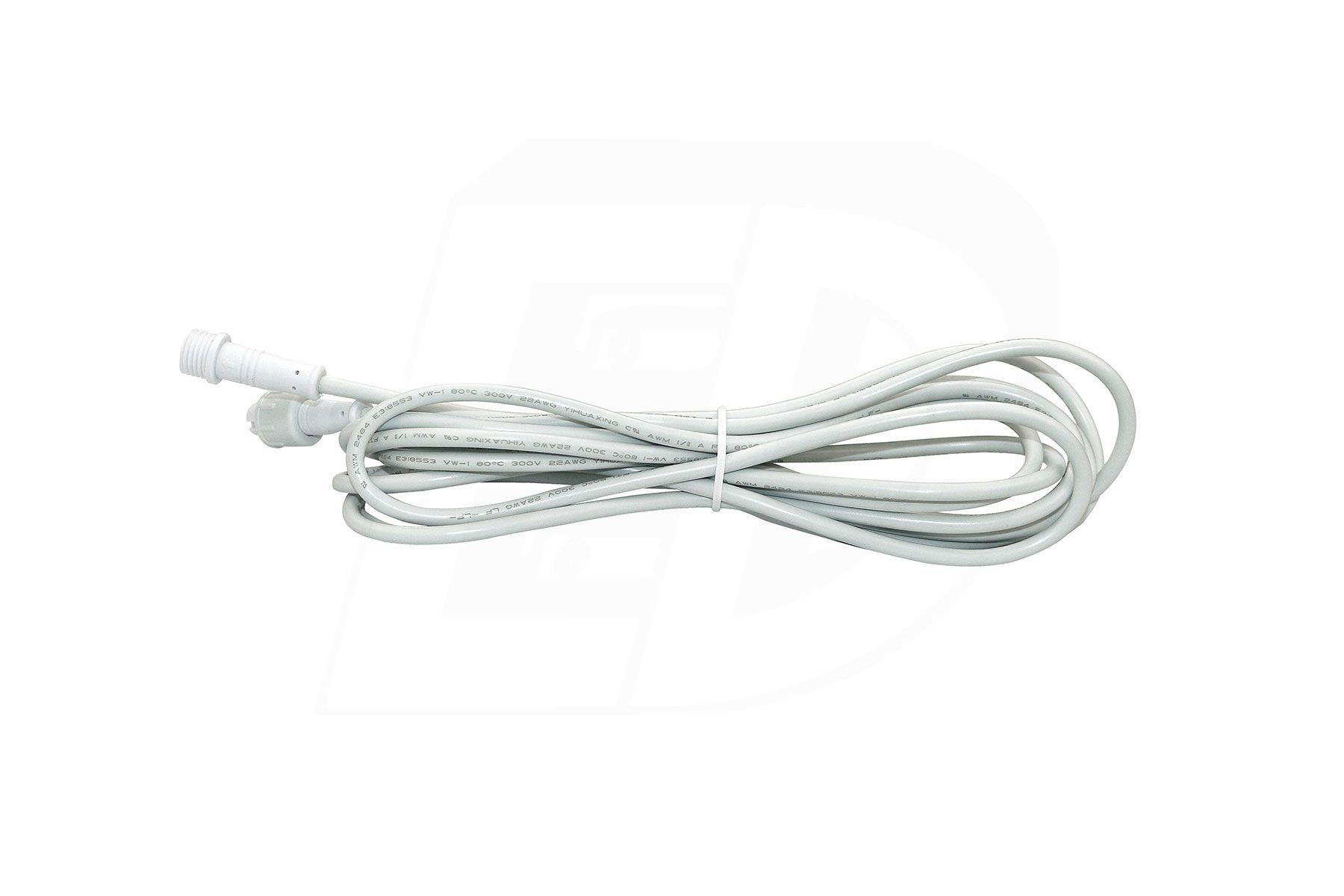 240″ Long Extension Cord for DLSG 3 Inch. Round and Square LED Gimbal Recessed Light / DLRB 2 Inch. Round and Square LED Baffle Recessed Light
