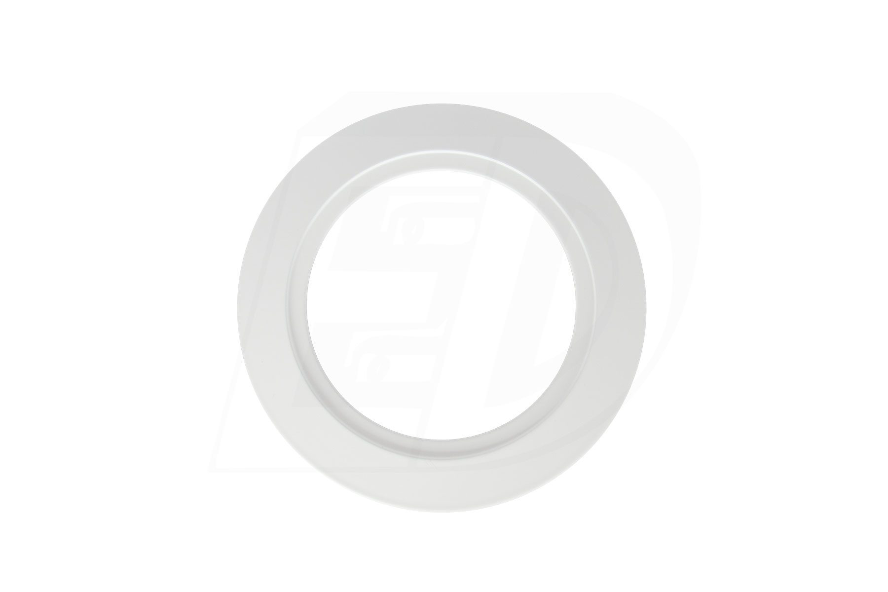 """White Goof Ring Overall Diameter 4 1/2"""" for DLSGR 3 Inch. Round Integrated LED Gimbal Recessed Light"""