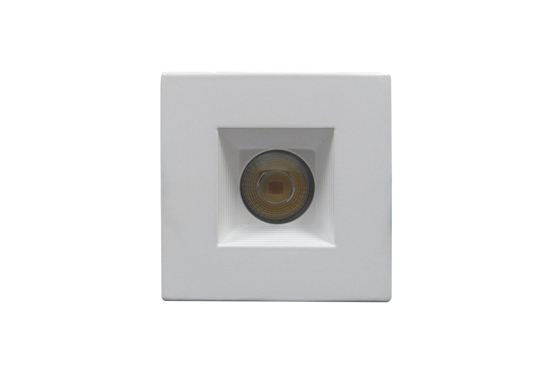 Square-Baffle-Recessed-Light-White