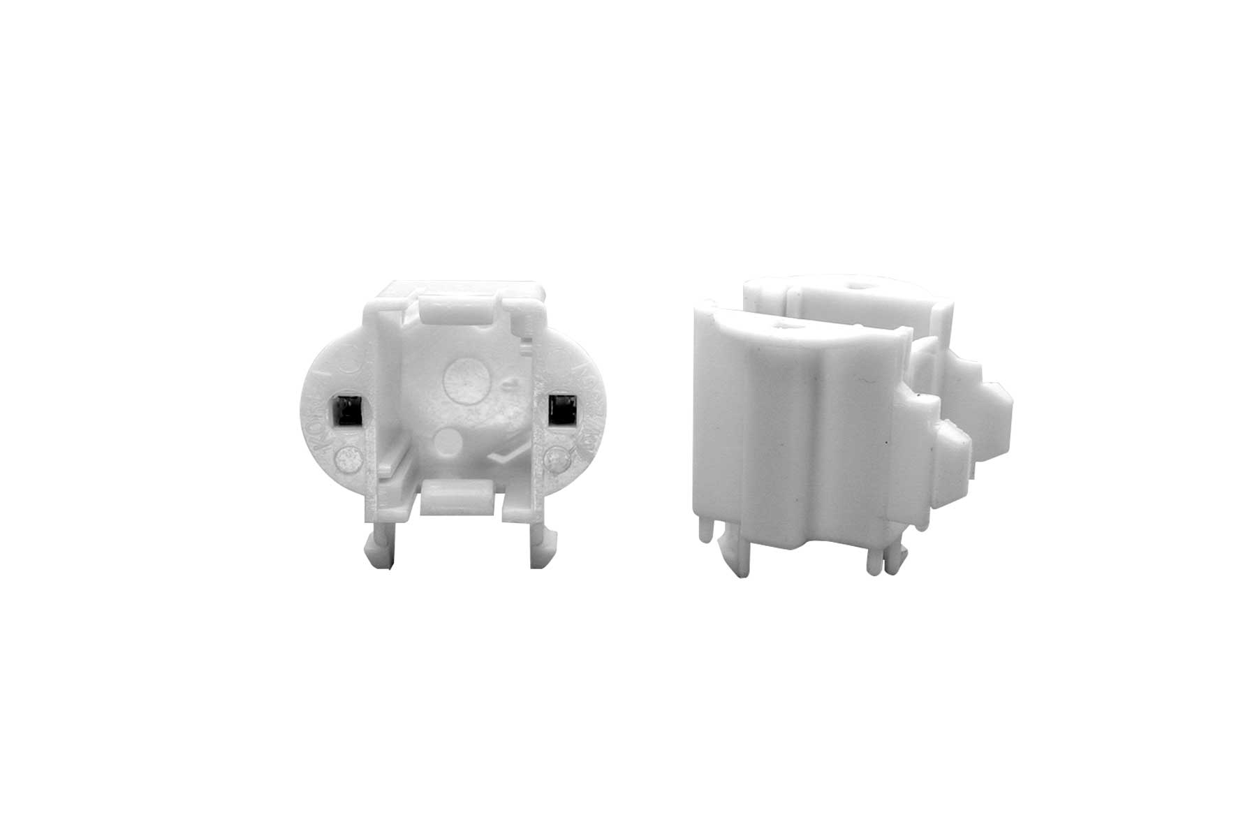 GX23 CFL Light Socket - Horizontal and Vertical Snap-in Mount