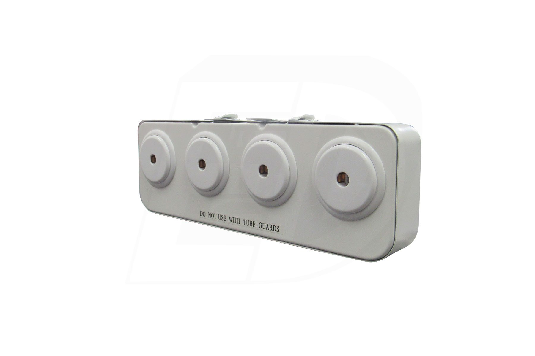 4 Lamps Turret T8, T10,T12 Slim High Output Lamp Holder Fluorescent Light Socket