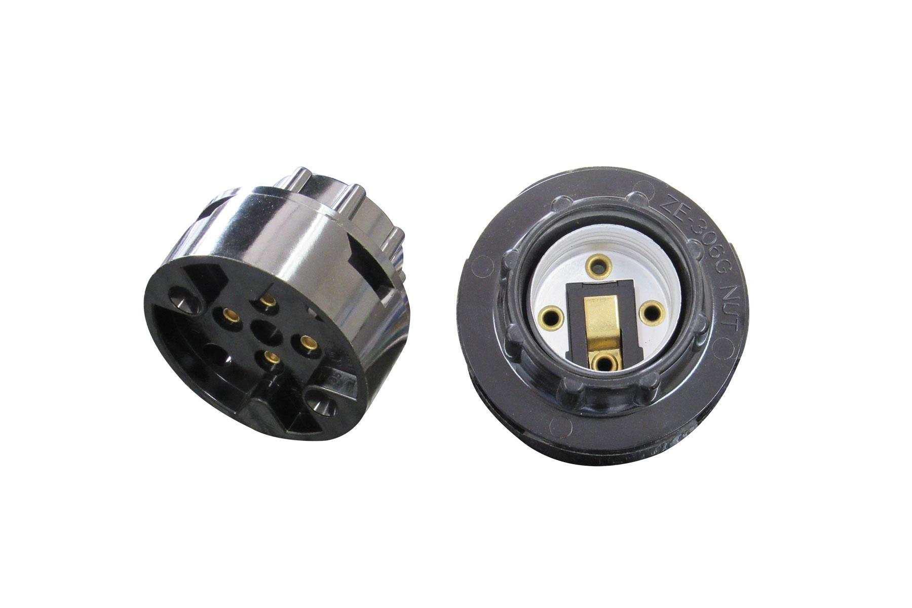 E26 to 6 inch Leads Light Bulb Socket Adapter