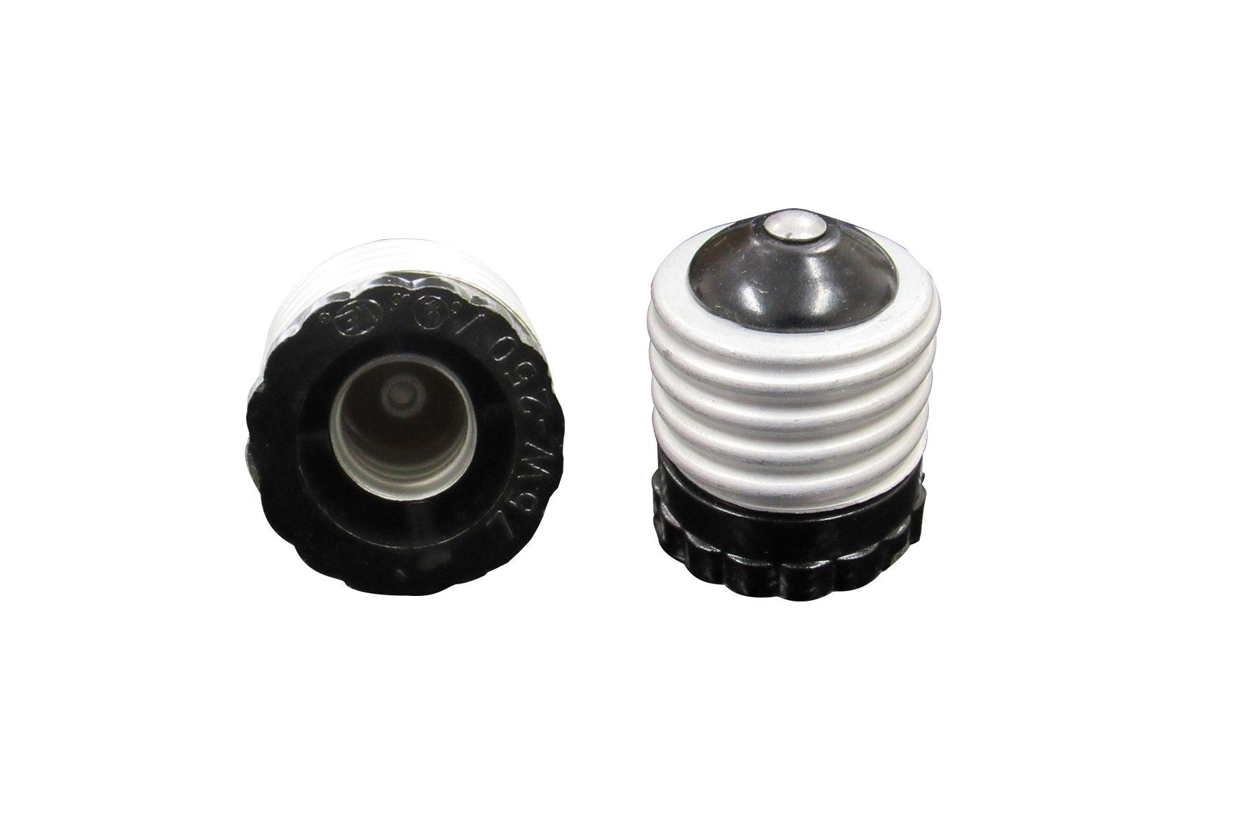 E26 to E12 Candelabra Base Light Bulb Socket Adapter