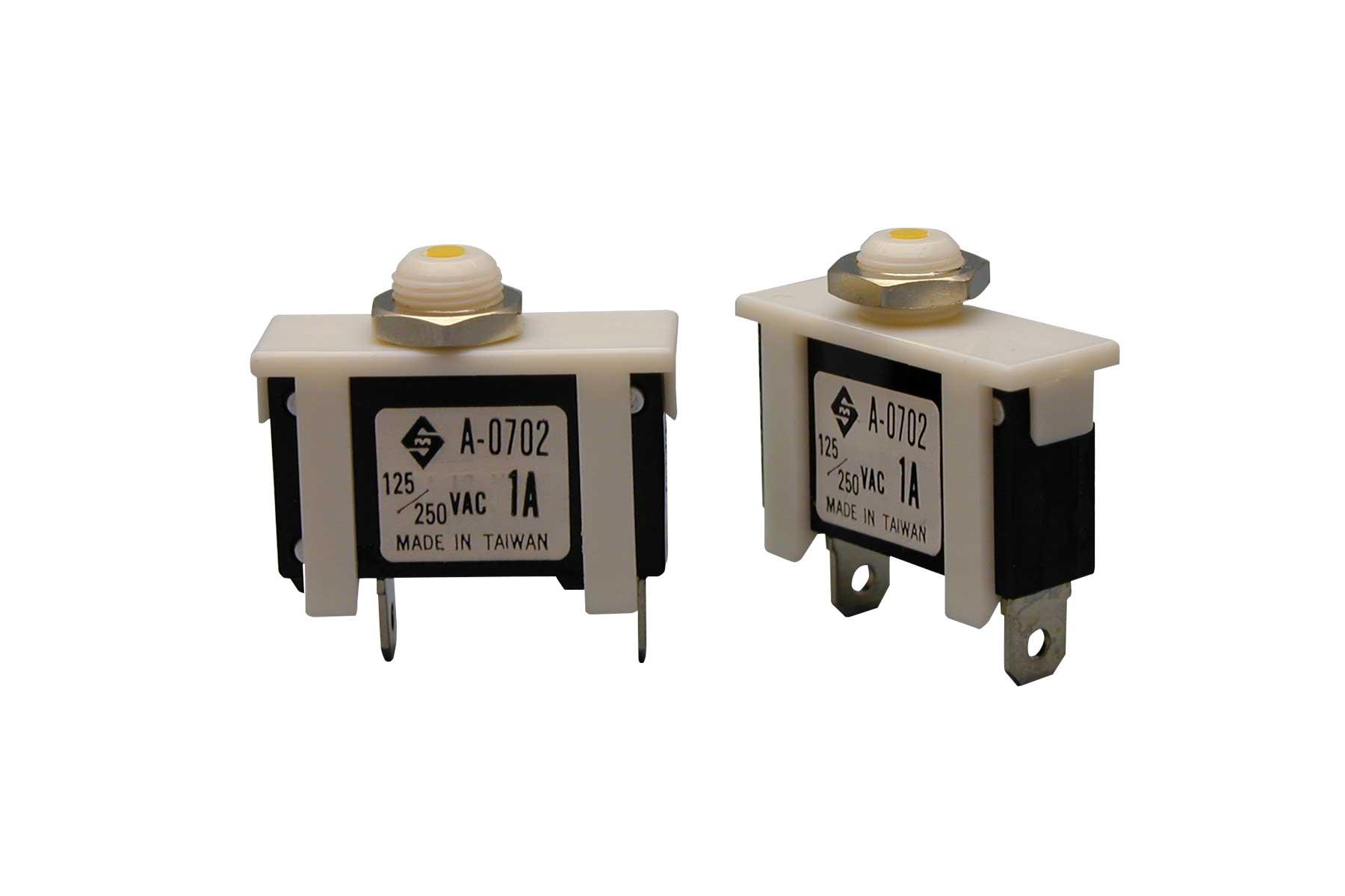 Single Pole Mini Circuit Breaker – 1A 250 VAC