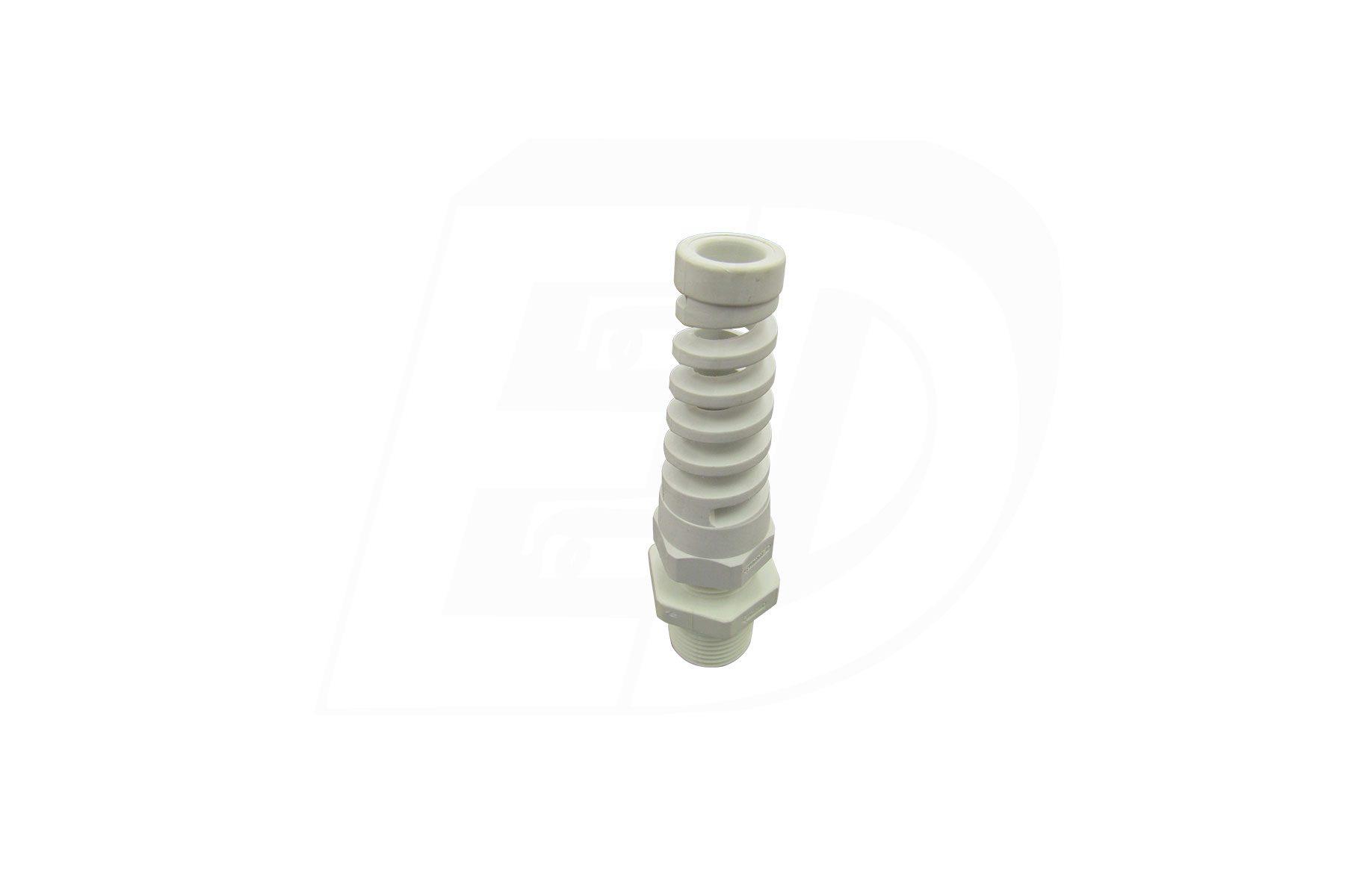 Nylon Straight Flex Liquid Tight Cable Strain Relief Connector