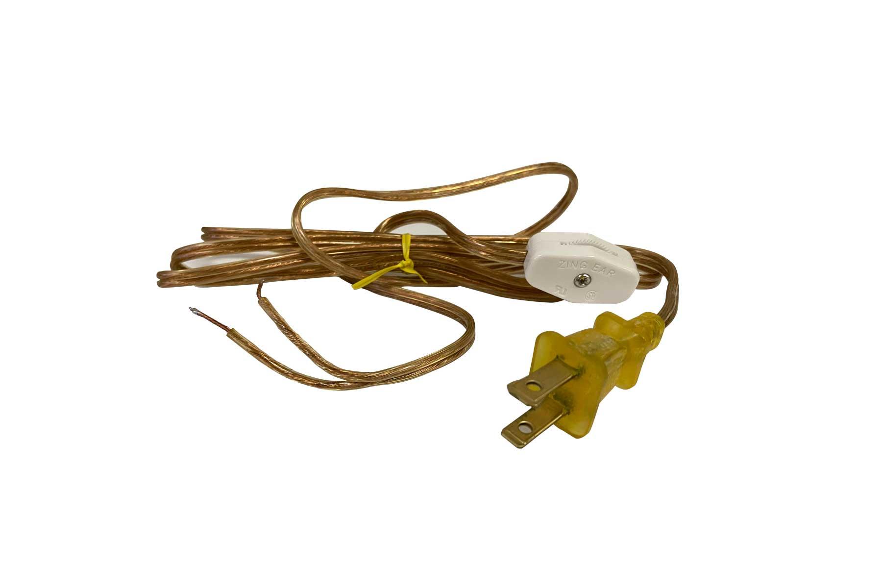NEMA 1-15P - 6 ft. SPT-1 AC Power Cord