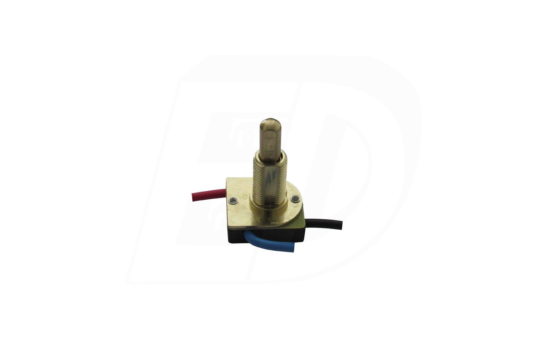 SPST Push Button Lamp Switch