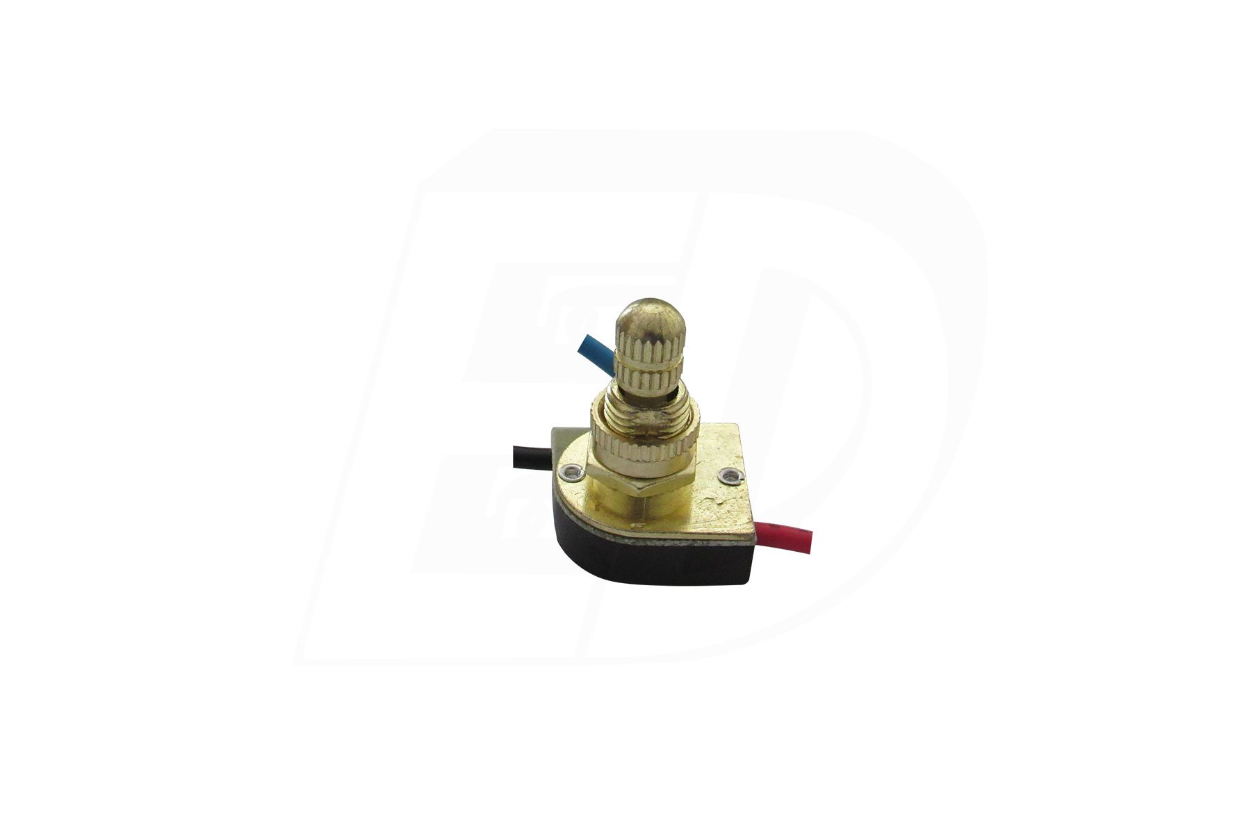 SPST Rotary Lamp Switch