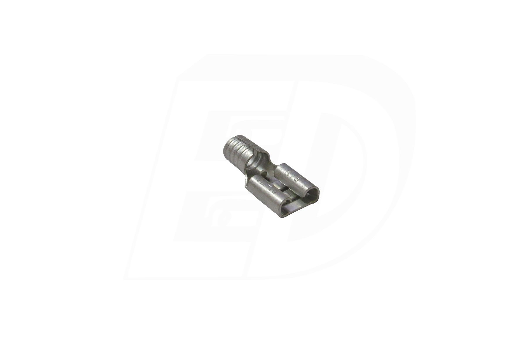 Butted Seam Female Disconnect Terminals 12 - 10 AWG