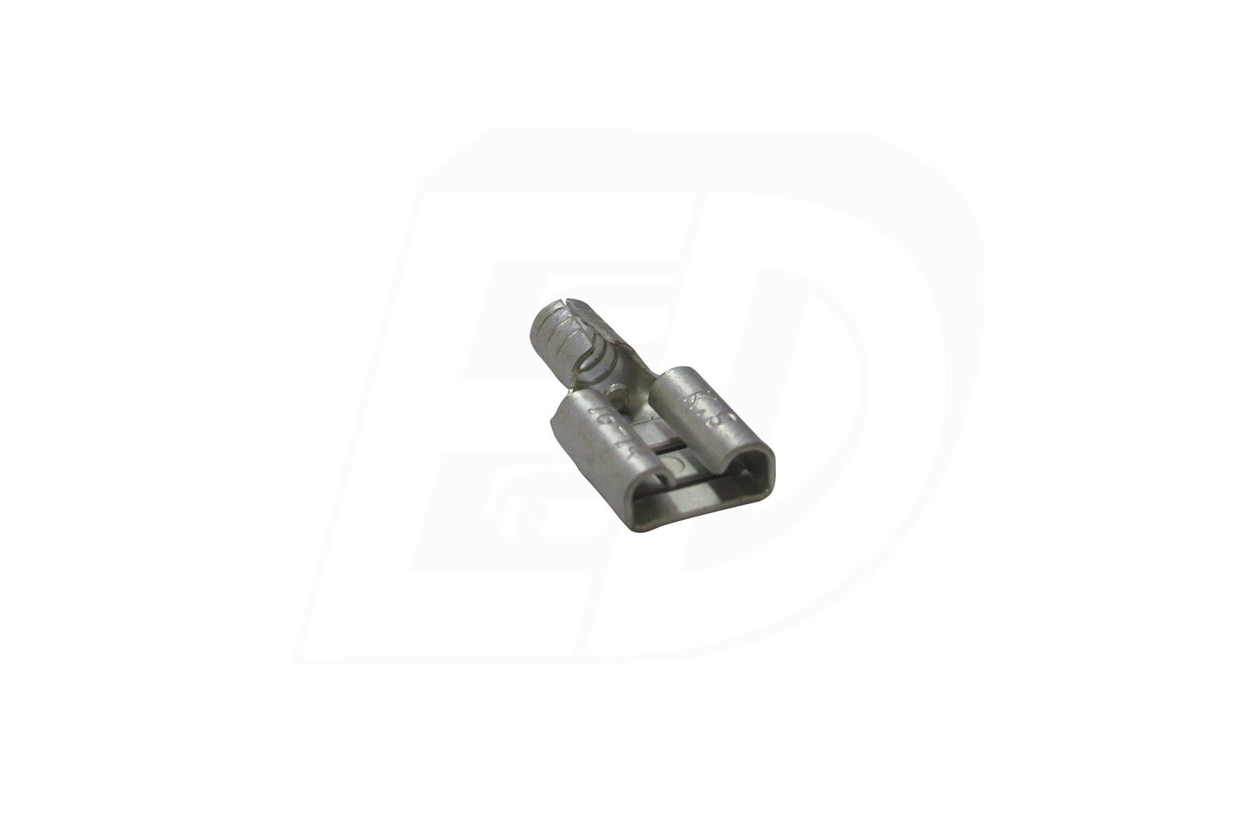 Butted Seam Female Disconnect Terminals with tin plated copper sleeve 16 - 14 AWG