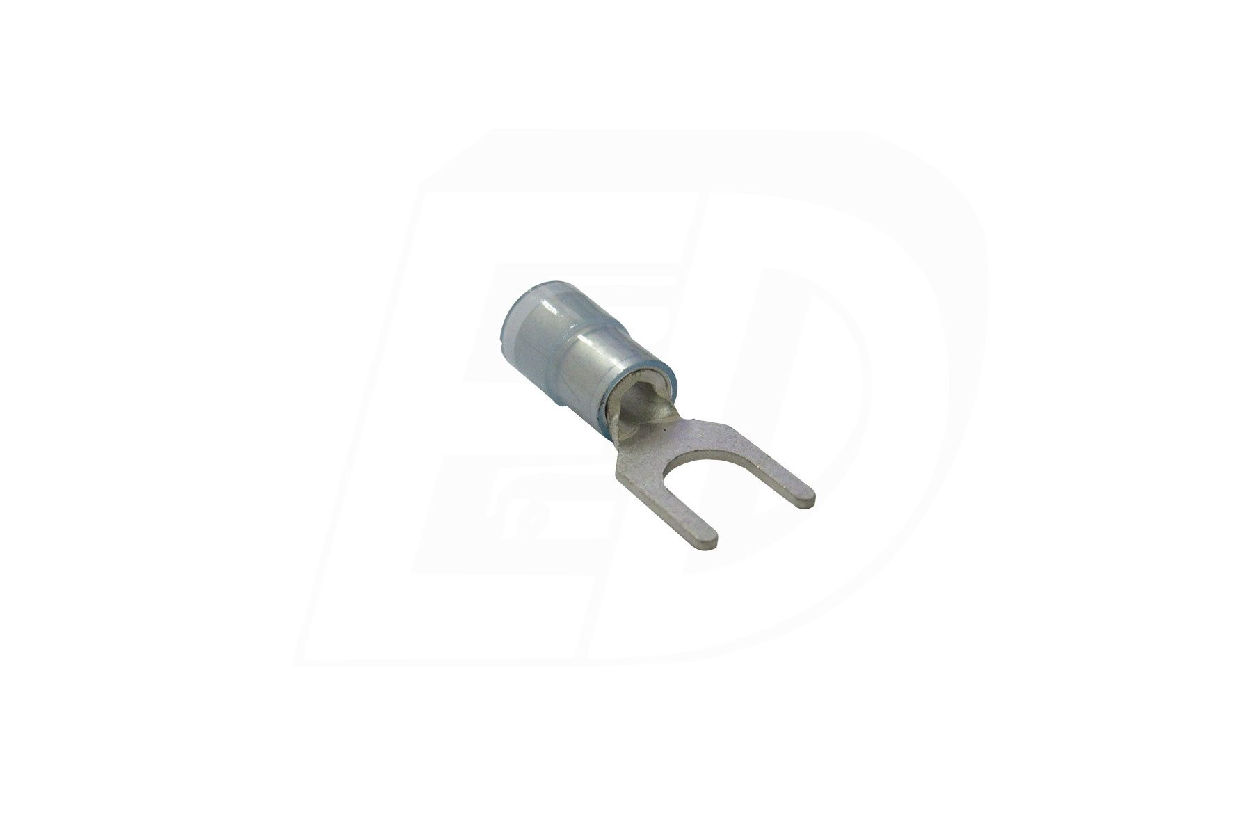 Nylon Insulated Spade Terminal with Tin Copper Sleeve 16 - 14 AWG