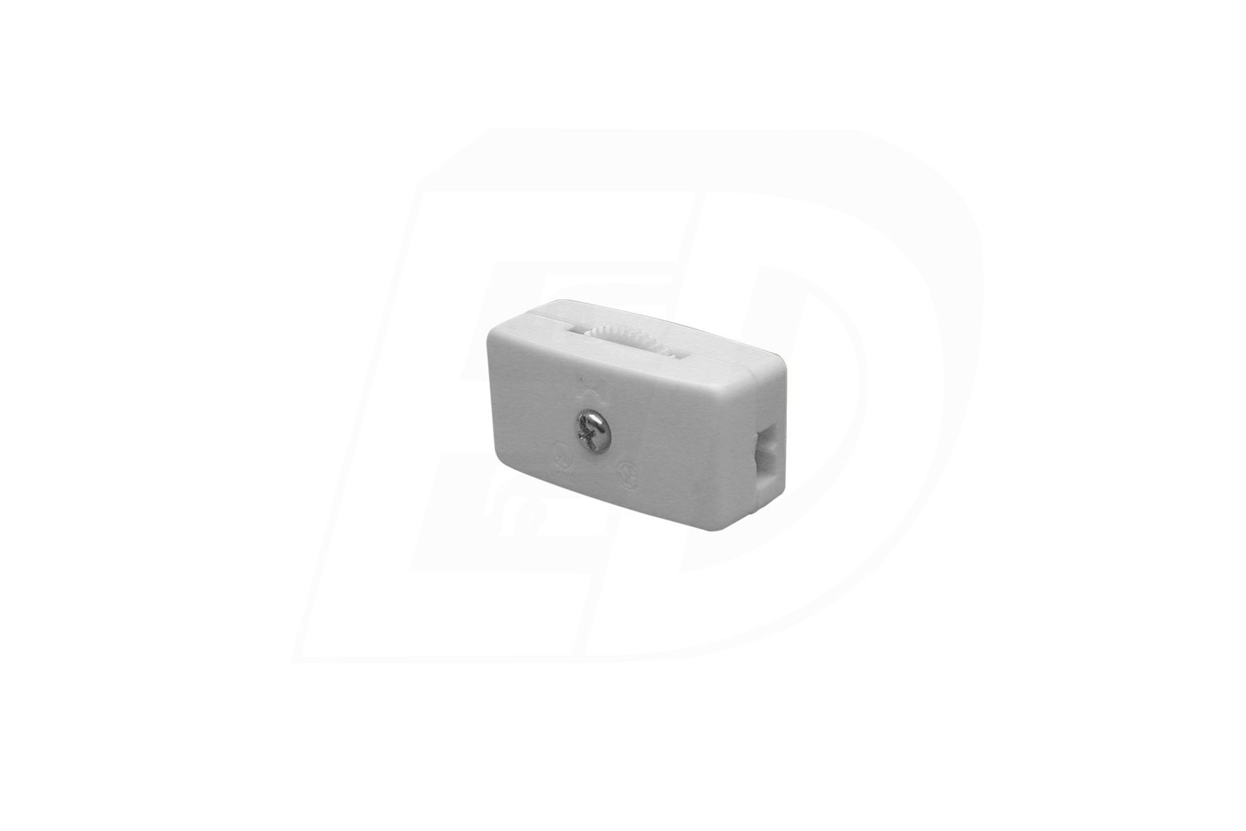SPST Rotary Inline Lamp Switch