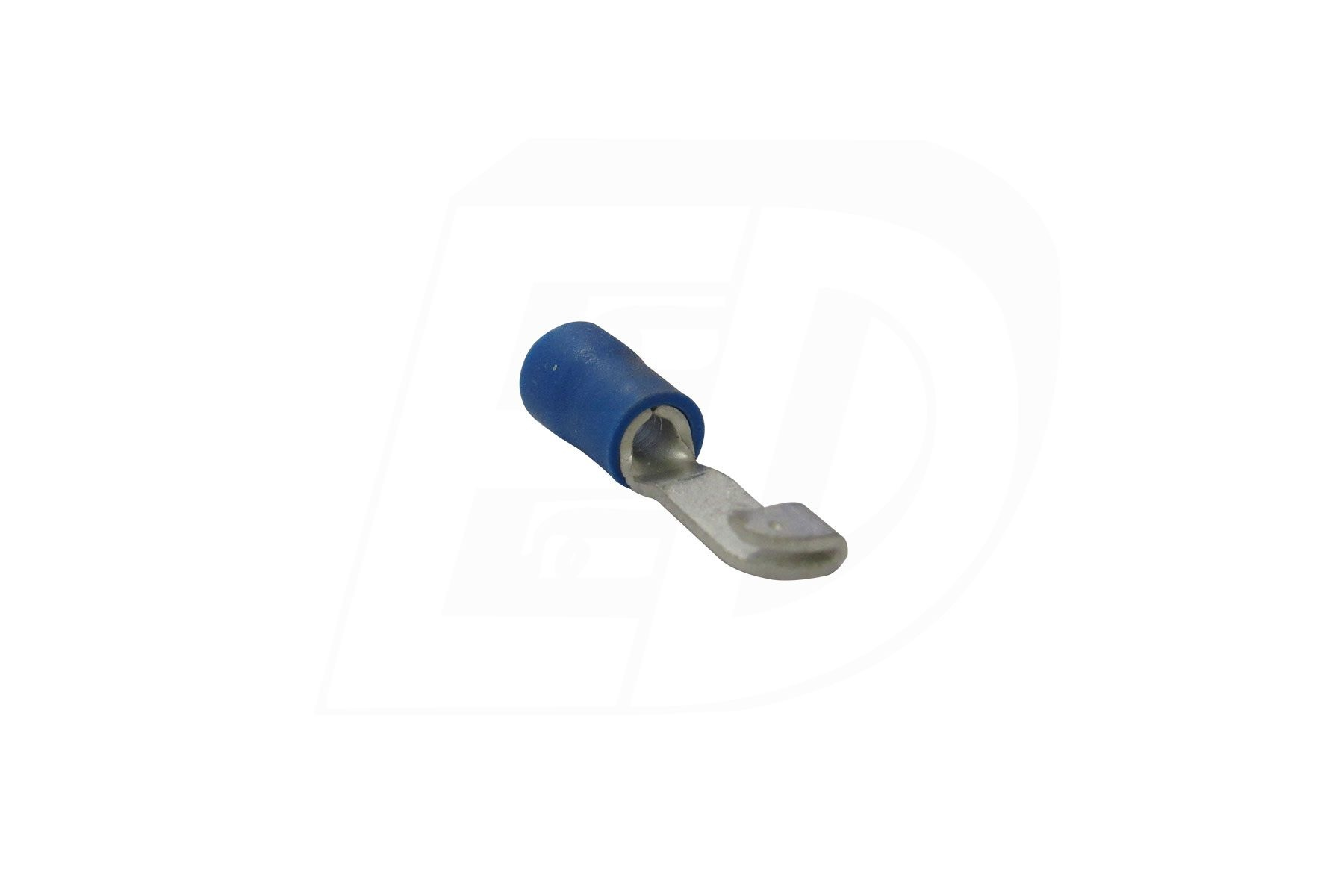 Brazed Seam Vinyl Insulated Knife Disconnect Splice with Tin Plated Copper Sleeve 16 - 14 AWG