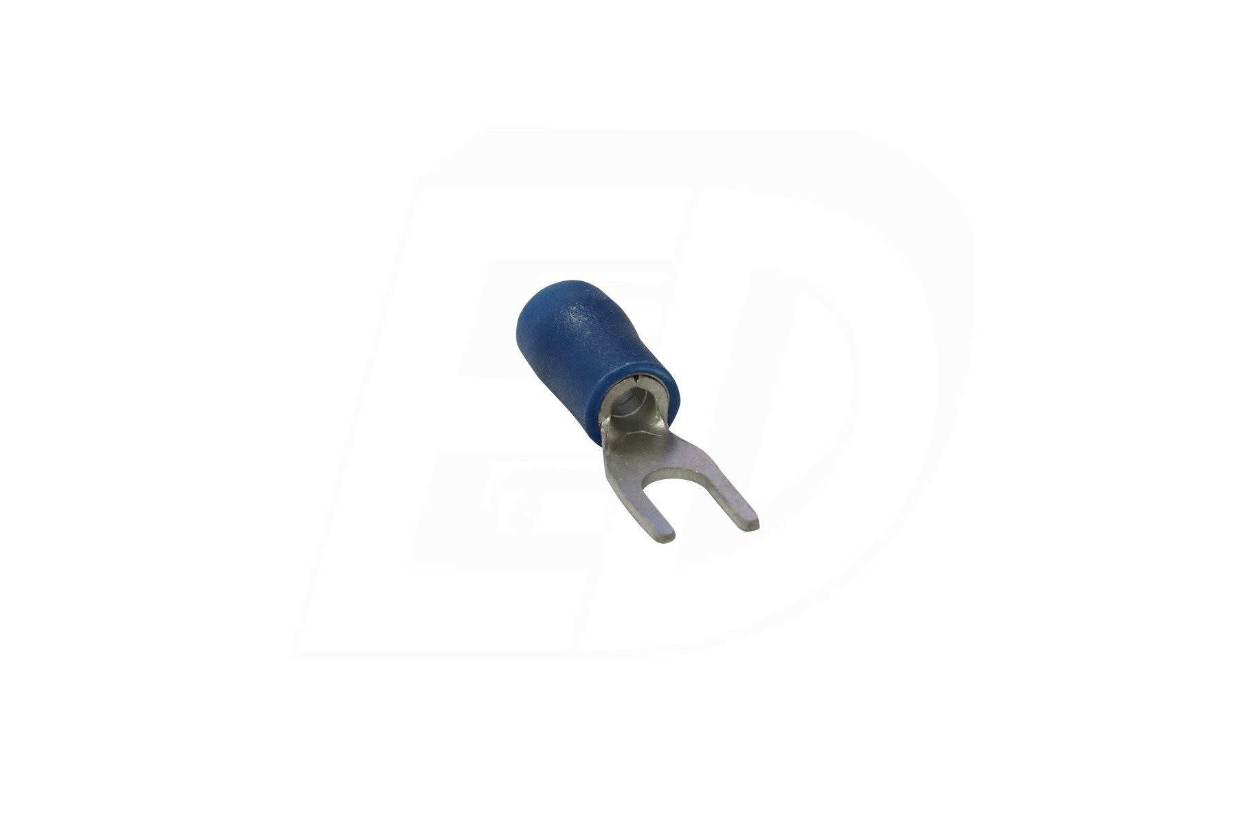 Spade Terminal with Tin Plated Copper Sleeve 16 - 14 AWG