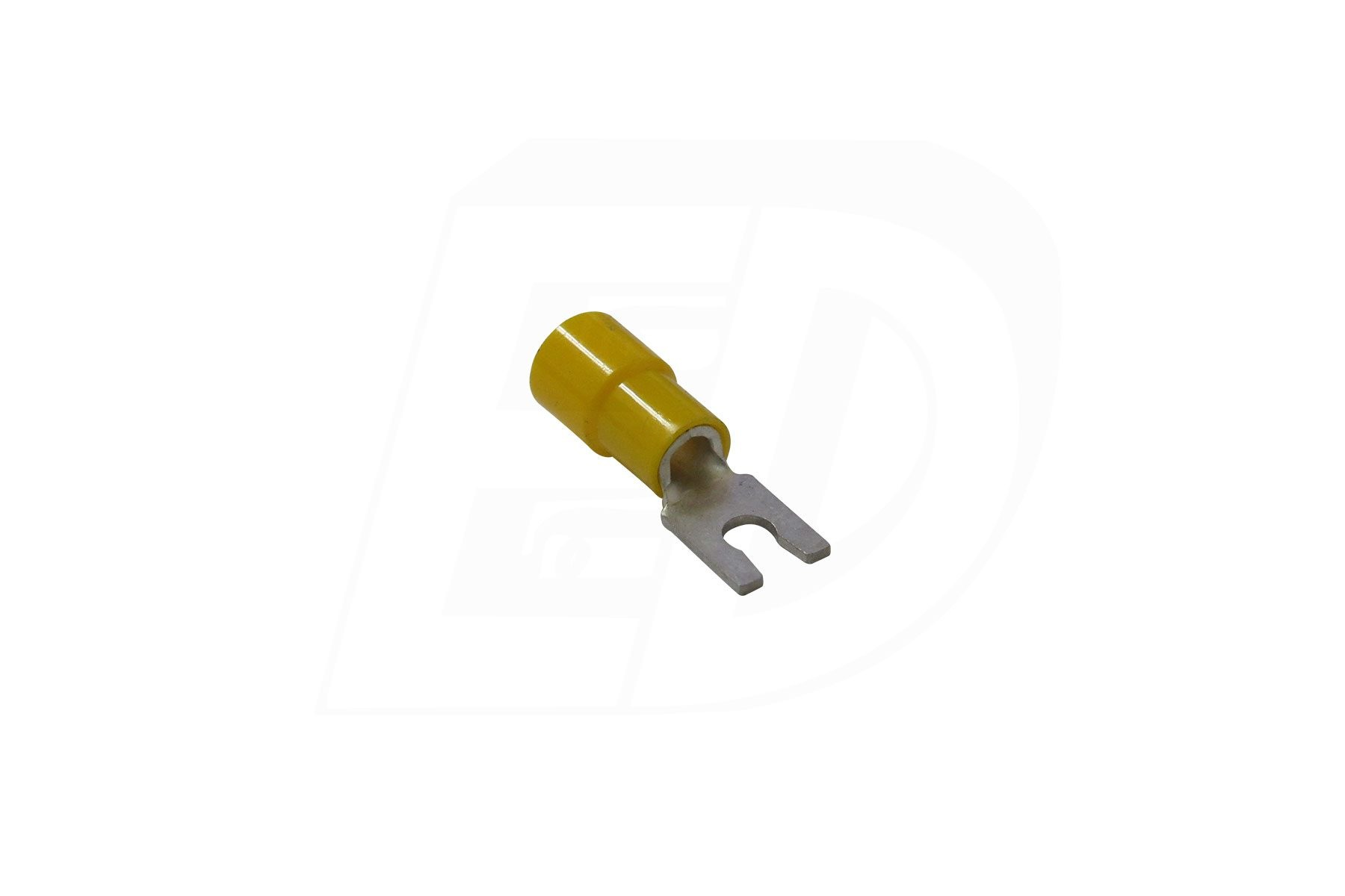 Vinyl Insulated Locking Spade Terminal with Funnel Entry 12 - 10 AWG