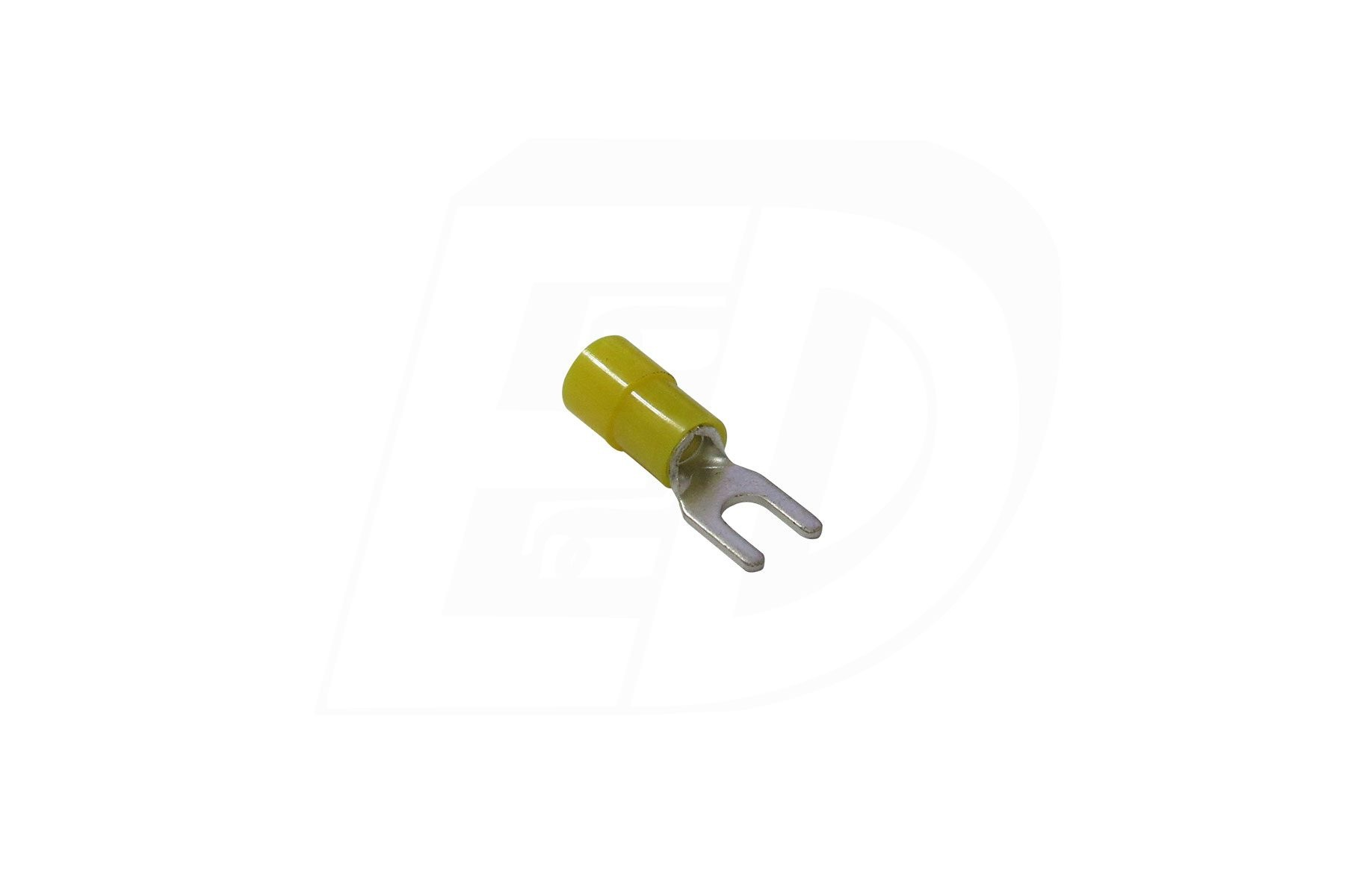 VINYL INSULATED SPADE TERMINAL WITH FUNNEL ENTRY 12 - 10 AWG