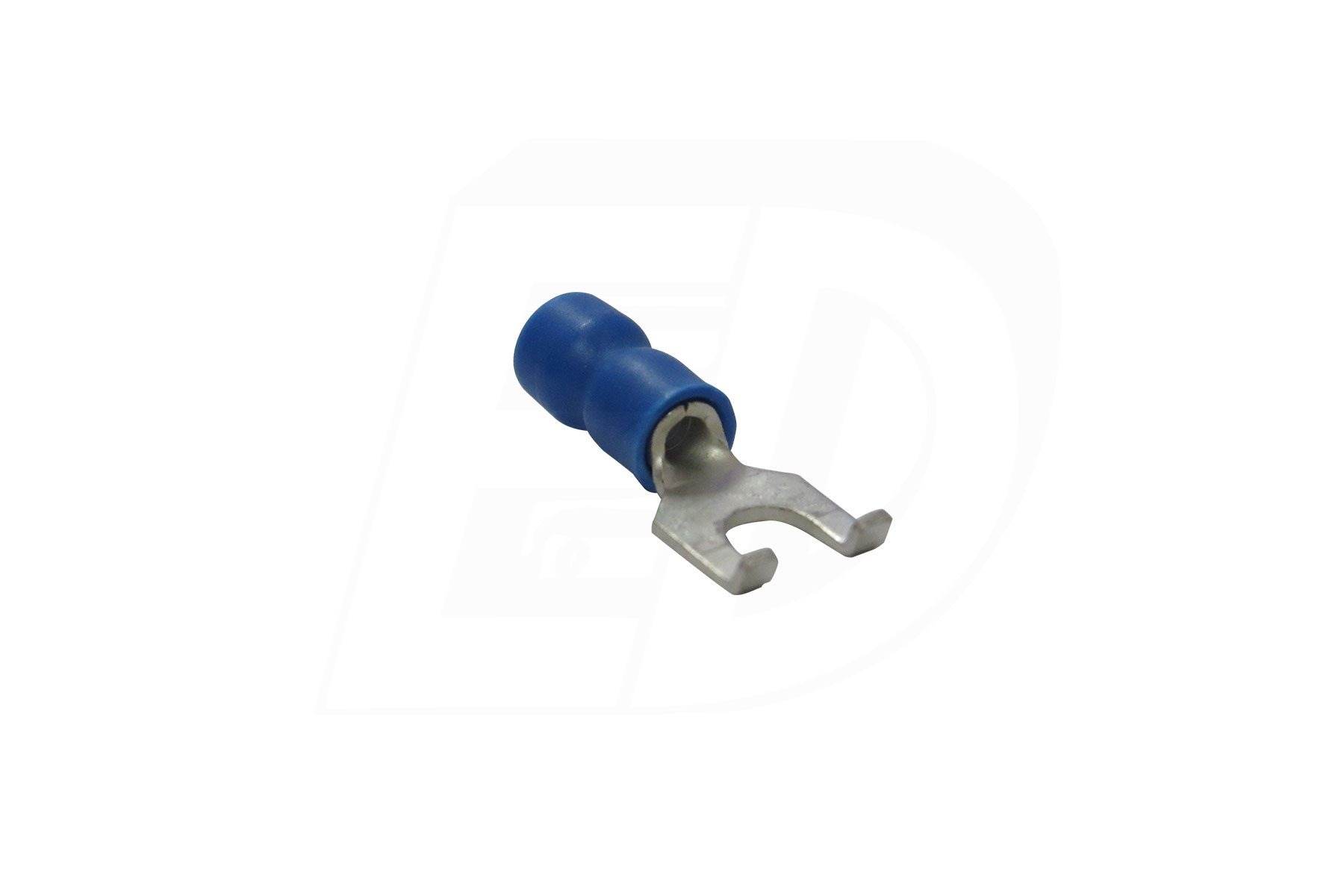 Vinyl Insulated Flanged Spade Terminal with Funnel Entry 16 -14 AWG #10
