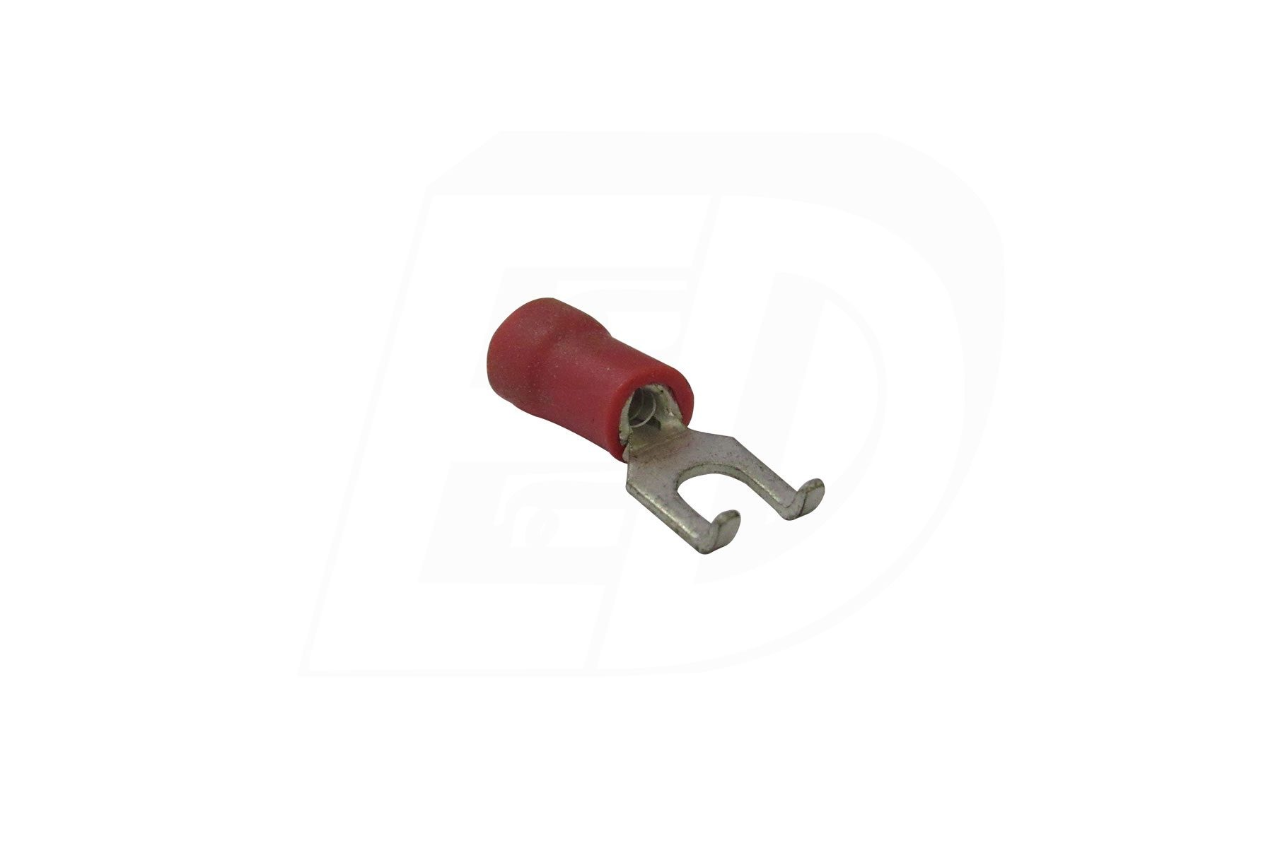 Vinyl Insulated Flanged Spade Terminal 22 - 16 AWG