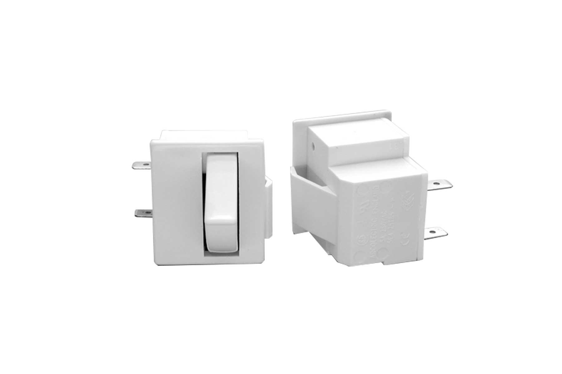 SPST Push Button Fridge Lamp Switch