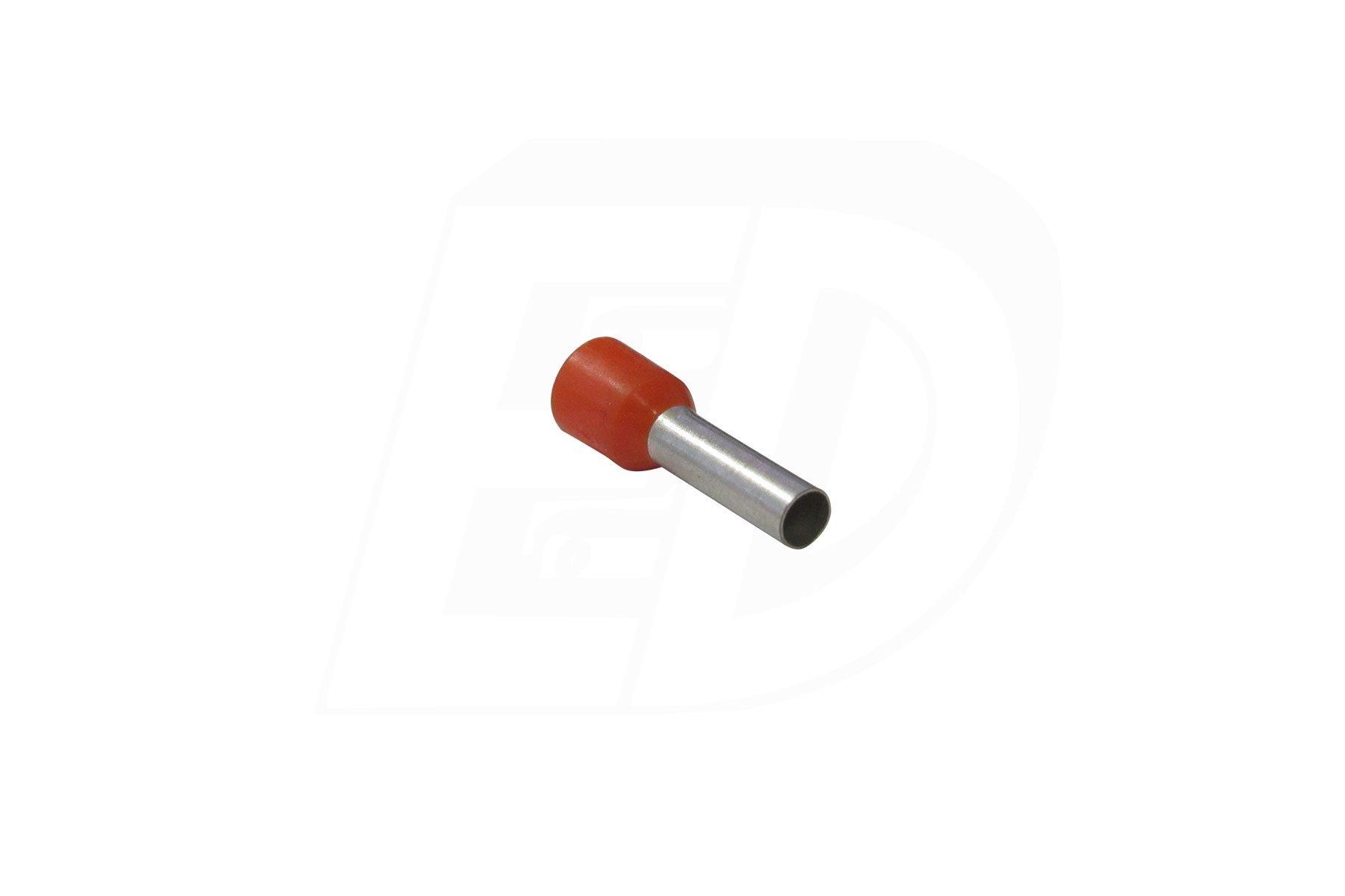 Brazed Seam Nylon Insulated Ferrule Connectors 12 AWG