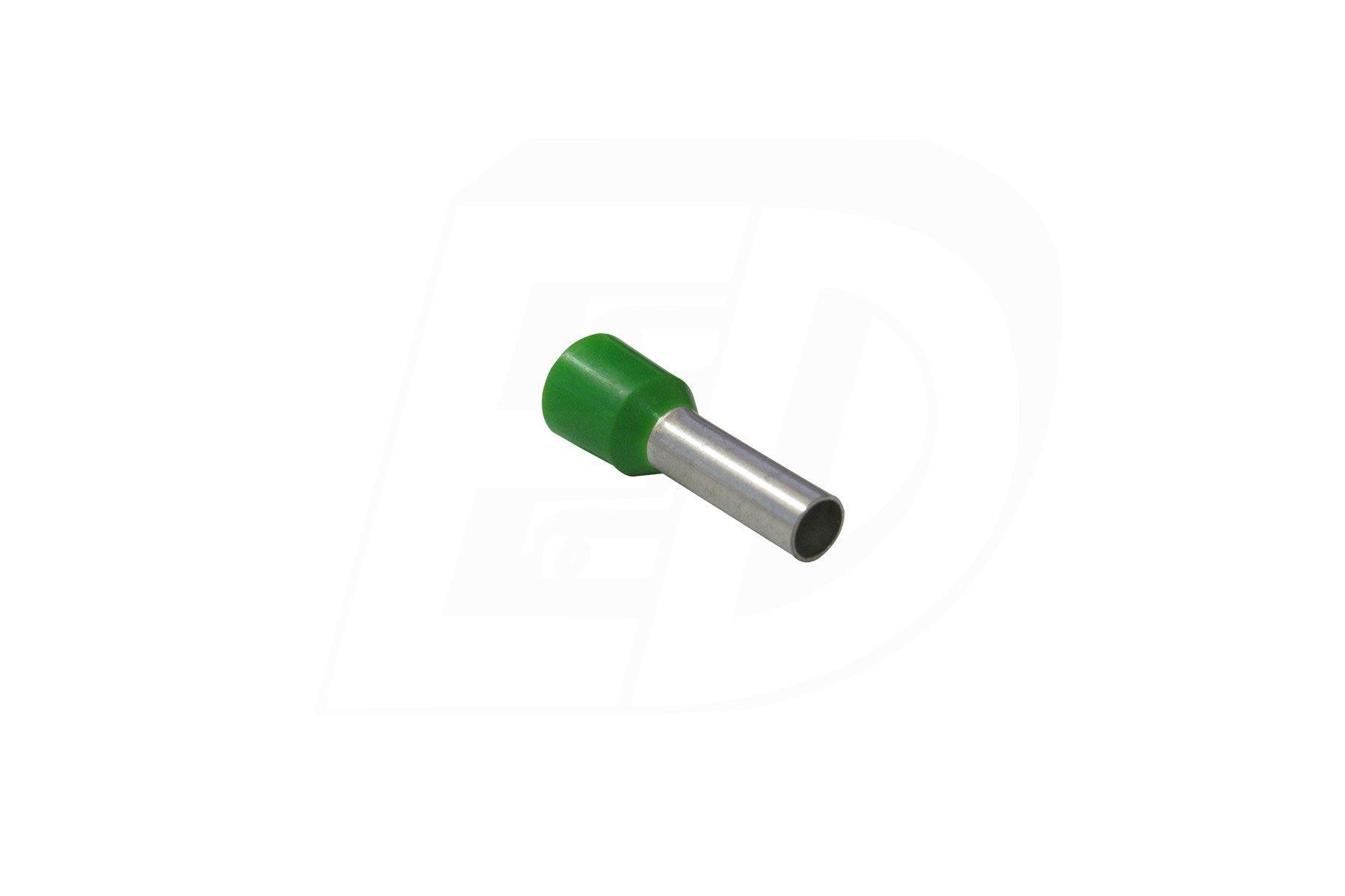 Brazed Seam Nylon Insulated Ferrule Connector 10 AWG