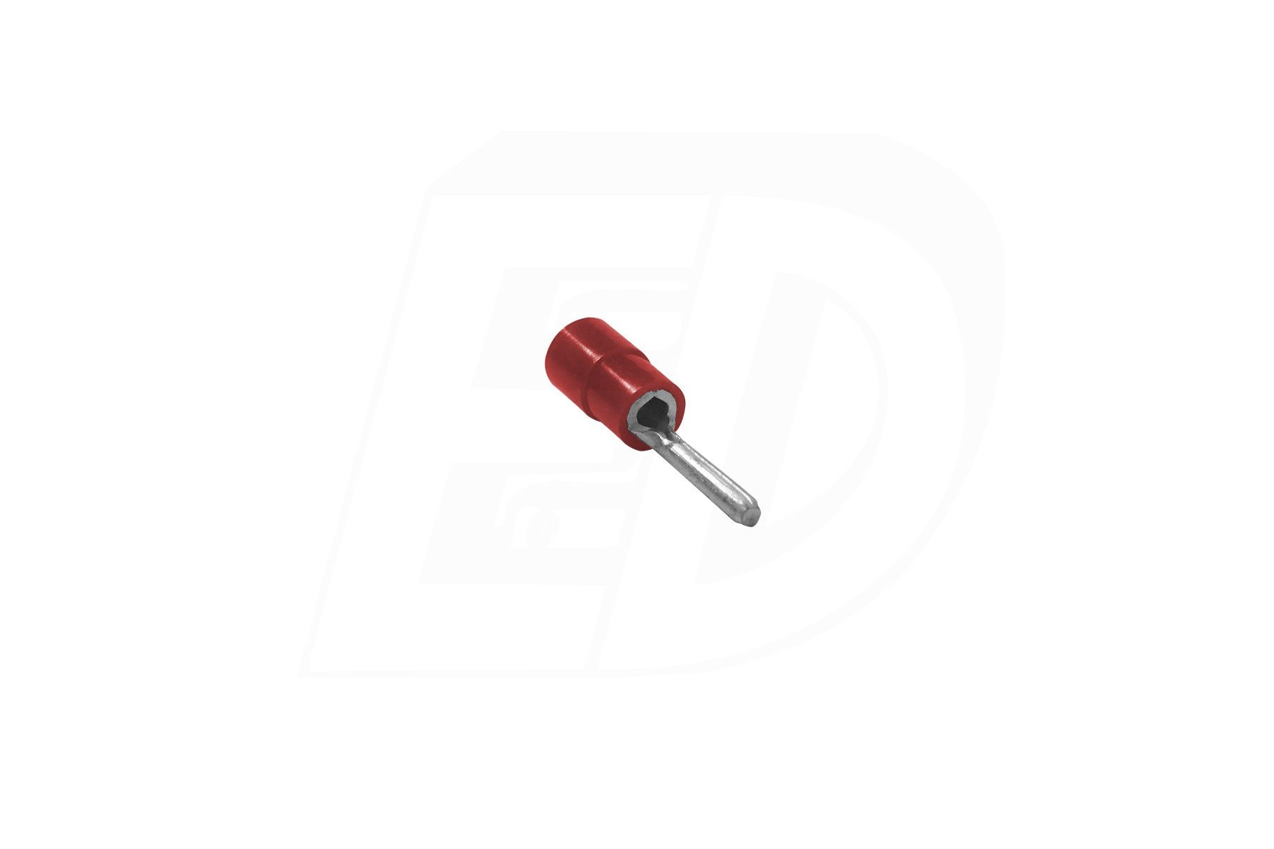 Butted Seam Vinyl Insulated Pin Terminals 22 - 16 AWG