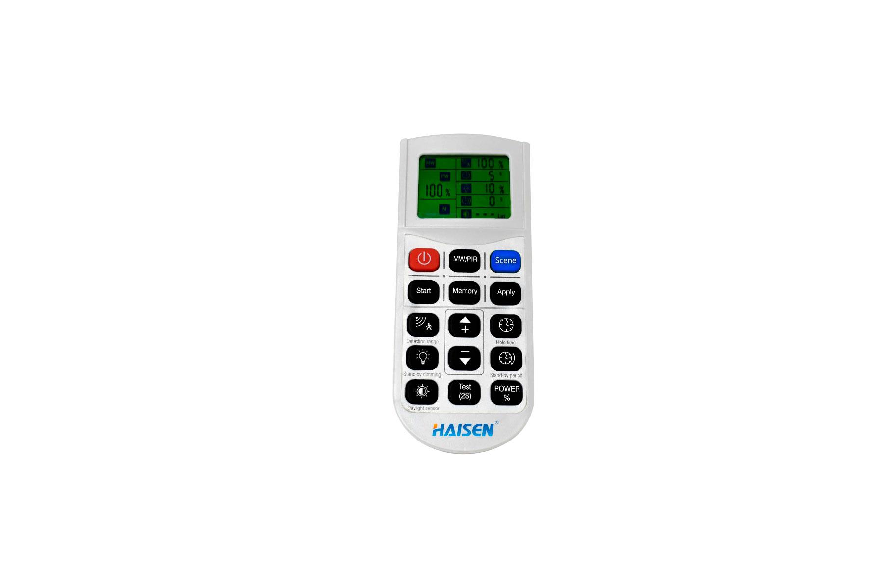 Remote Control for HBRA7-W-SENMC Round High Bay LED Light Microwave Sensor