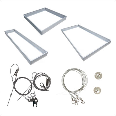 LED FLAT PANEL LIGHT ACCESSORIES