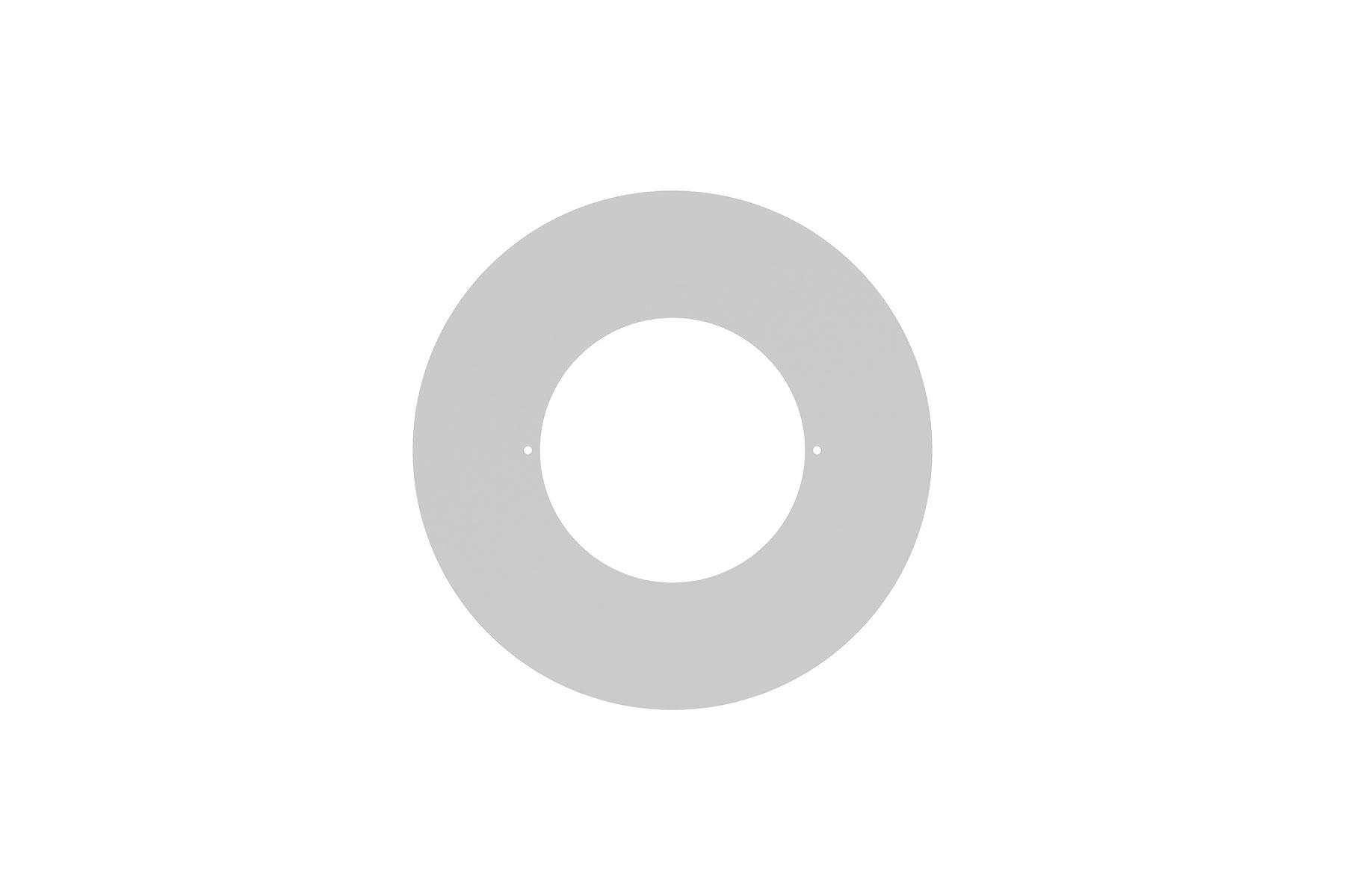 "Goof Ring Overall Diameter 8 1/2"" for DLCLR 4 Inch LED Commercial Recessed Light"