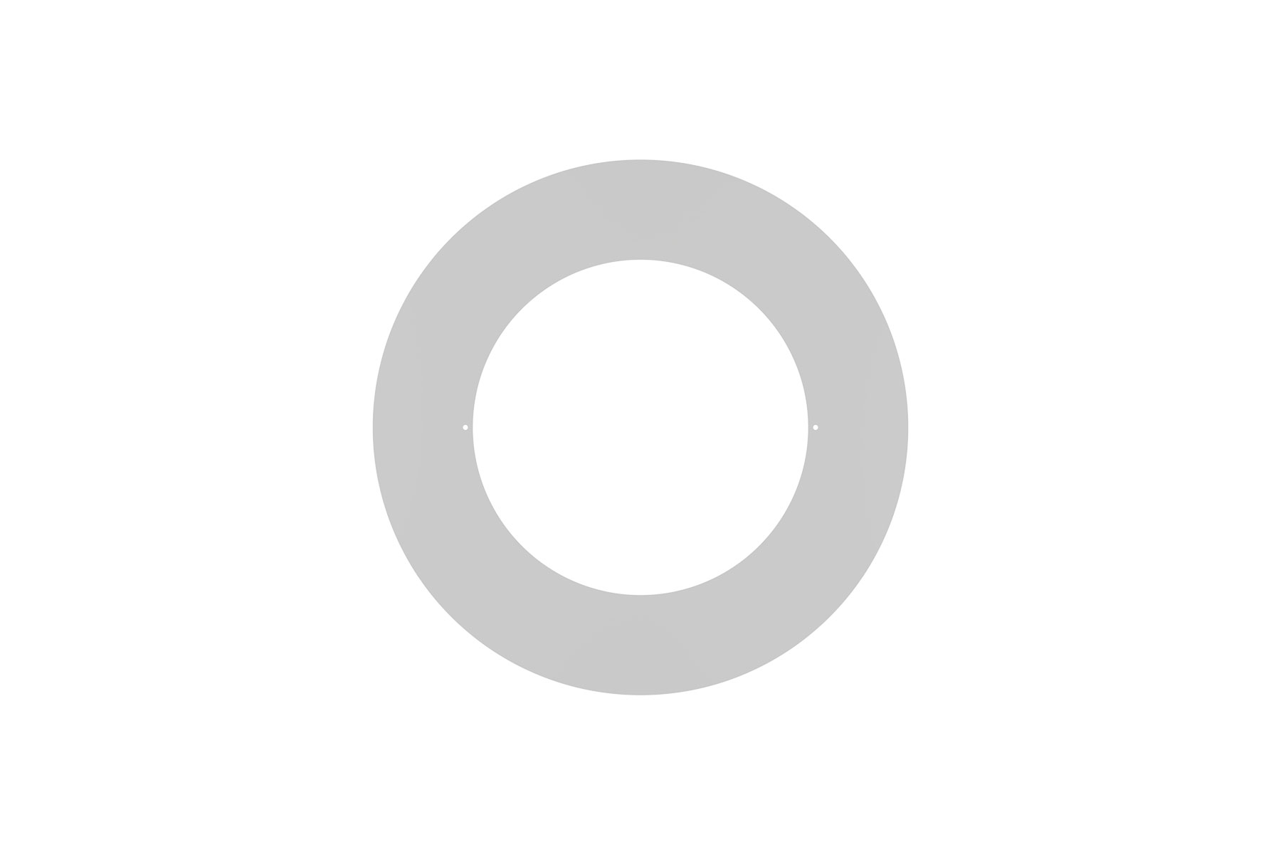 "Goof Ring Overall Diameter 10 1/2"" for DLCLR 6 Inch LED Commercial Recessed Light"
