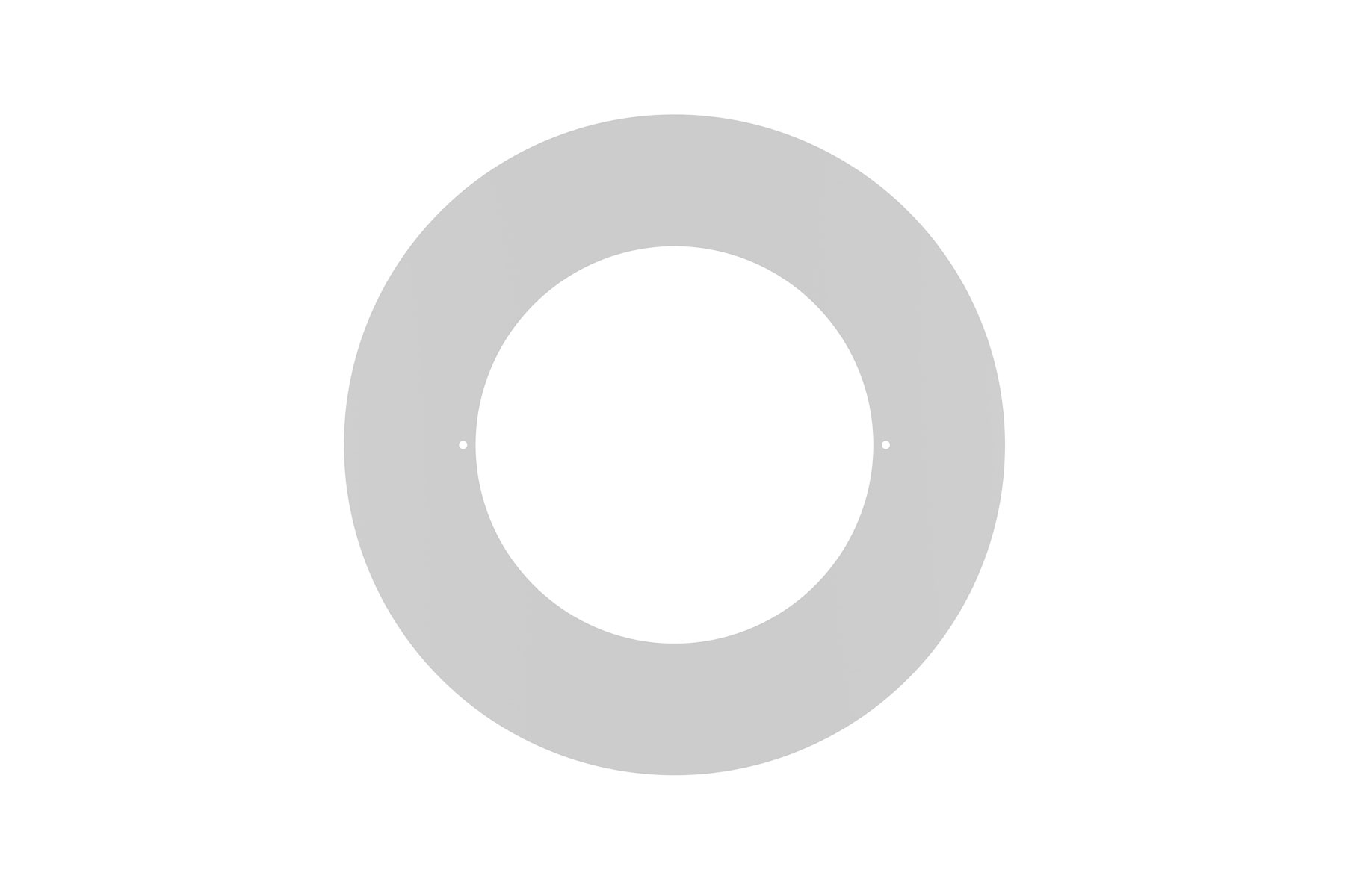 "Goof Ring Overall Diameter 12 1/2"" for DLCLR 8 Inch LED Commercial Recessed Light"