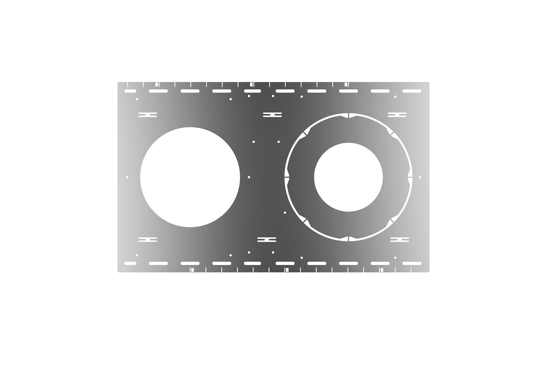 PRE-MOUNTING PLATE, STUD / JOIST CEILING FOR DLCLR4, DLCLR6, DLCLR8