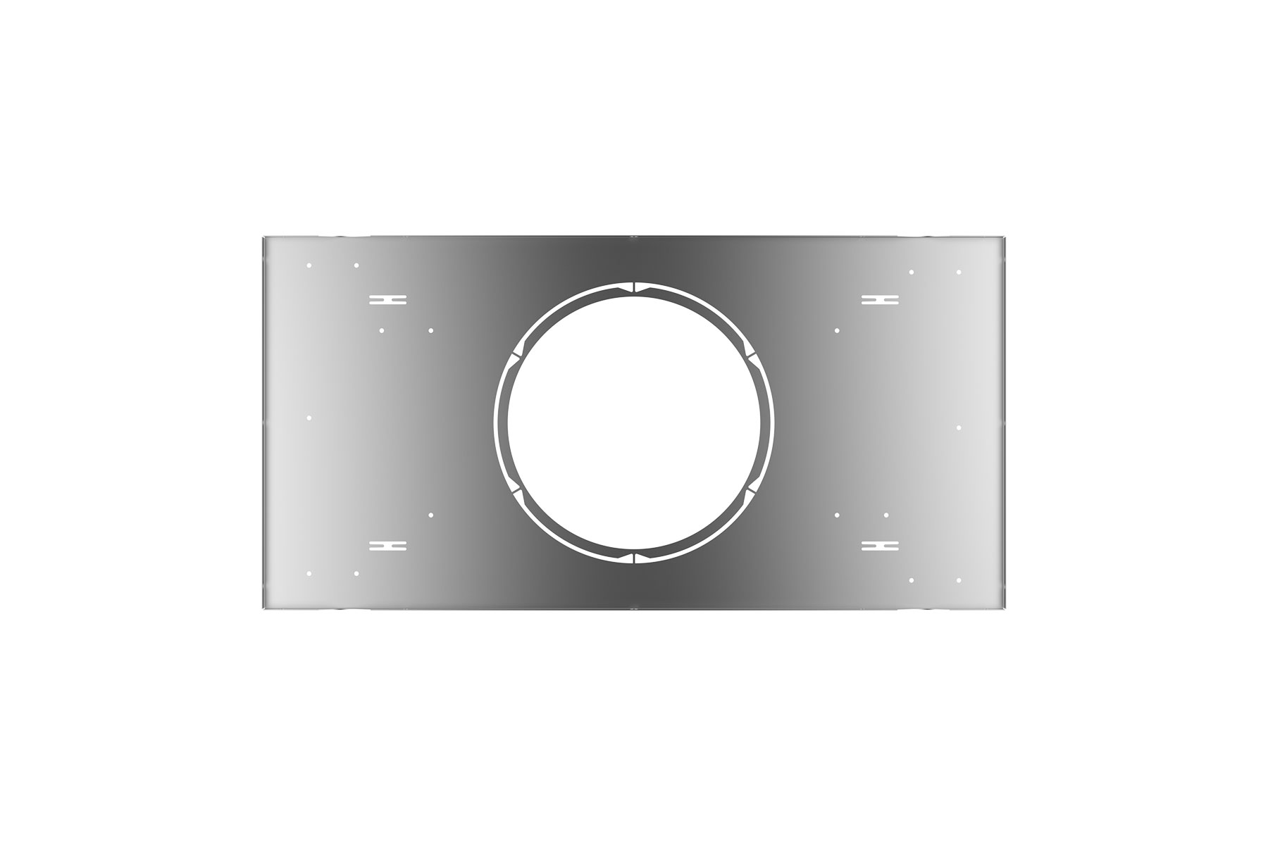 Pre-Mounting Plate, T-Grid Ceiling for DLCLR LED Commercial Recessed Light