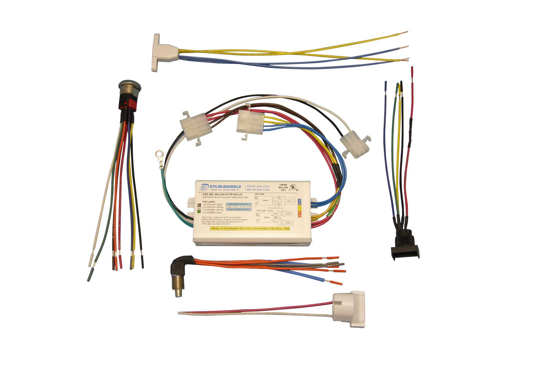 Passive Components to Electrical Wire Assembly