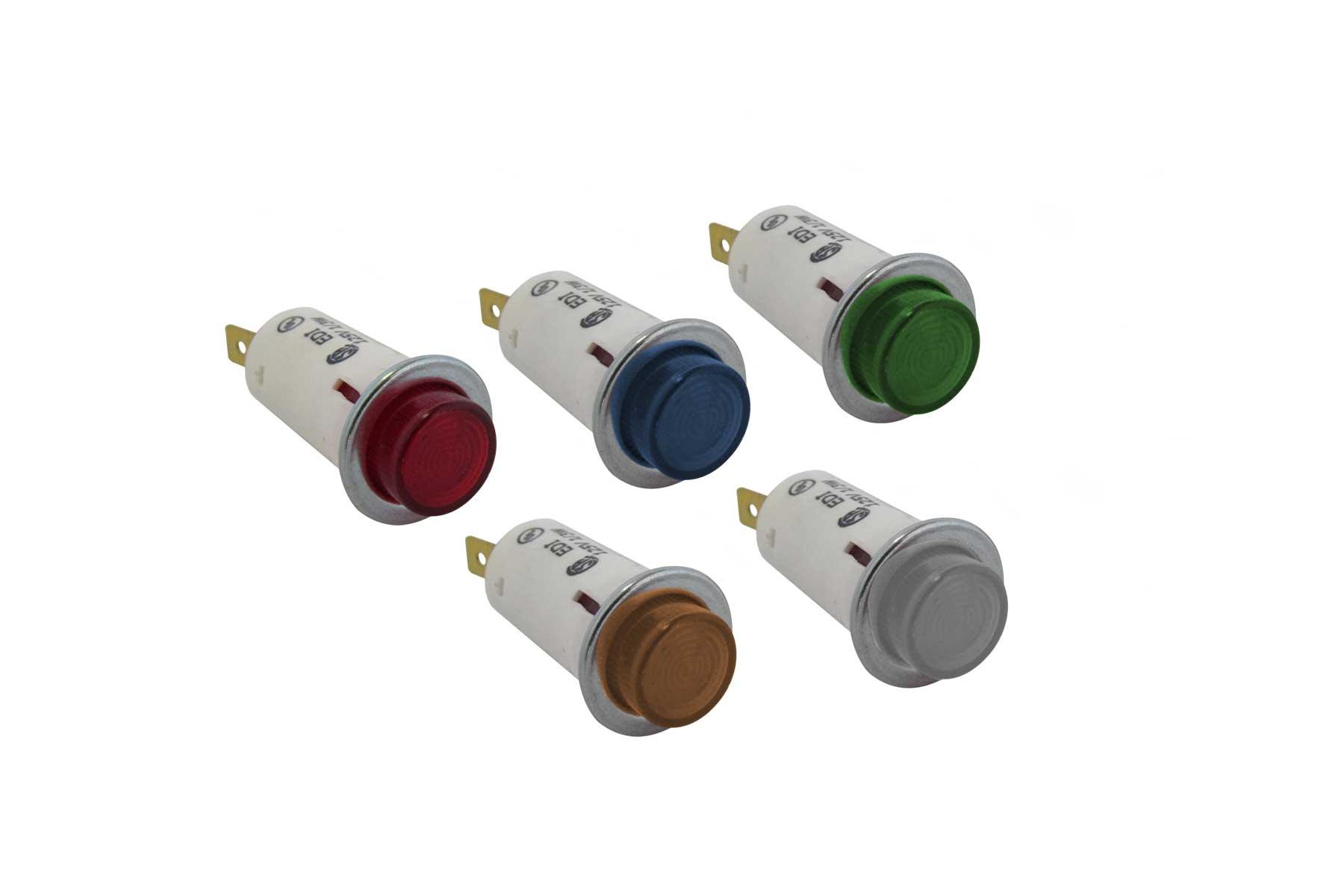 Round Indicator Light