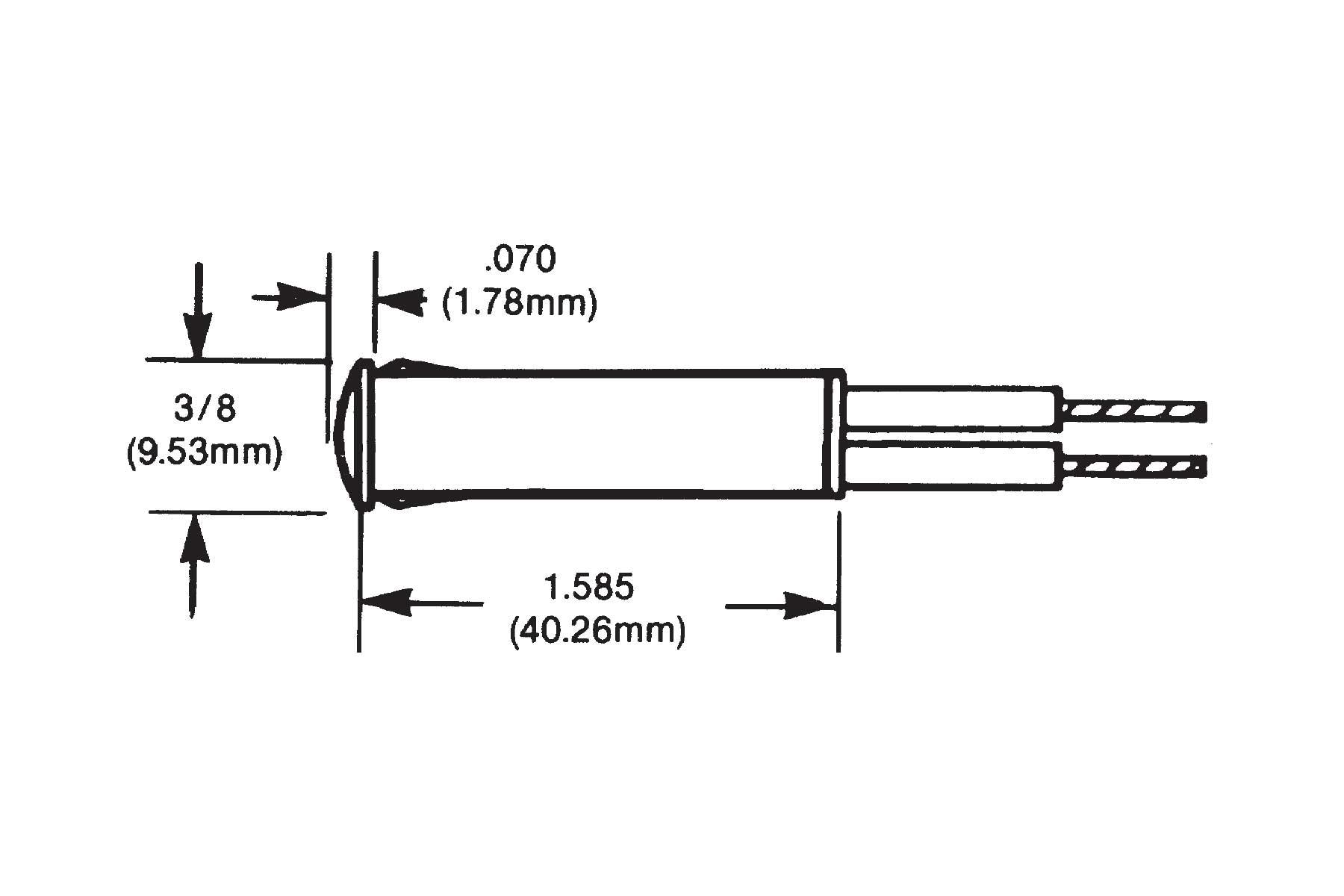 LED Round Indicator Light