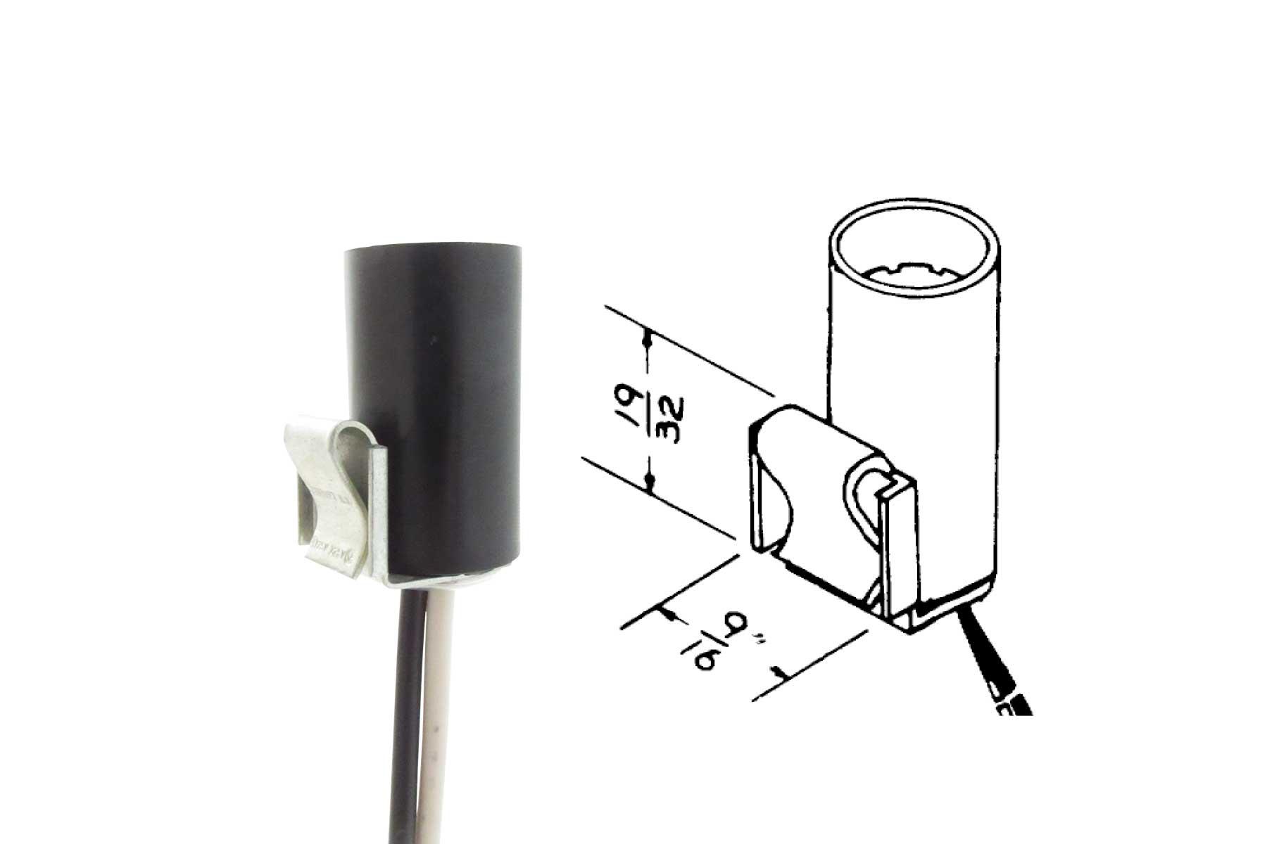 Miniature Candelabra Screw Base Socket