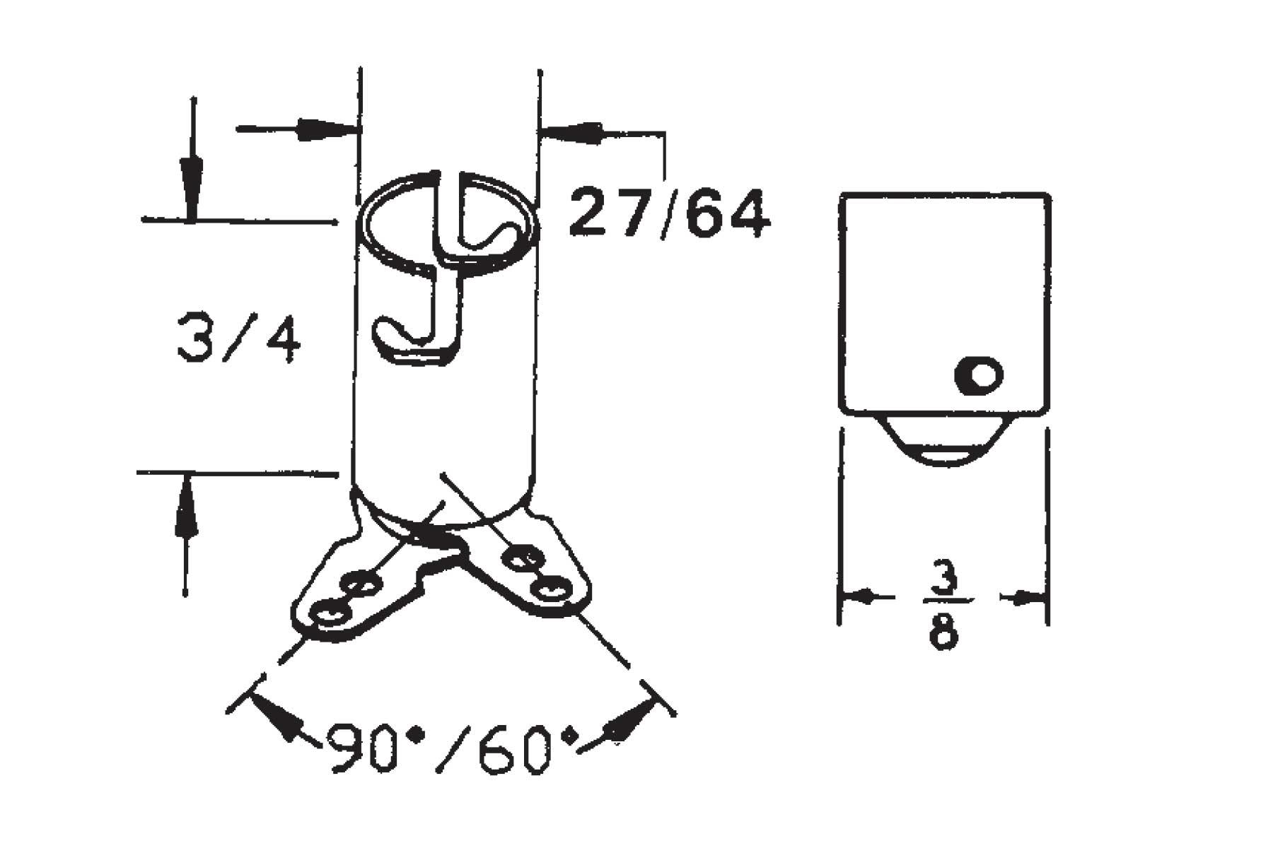 Miniature Bayonet Base Socket