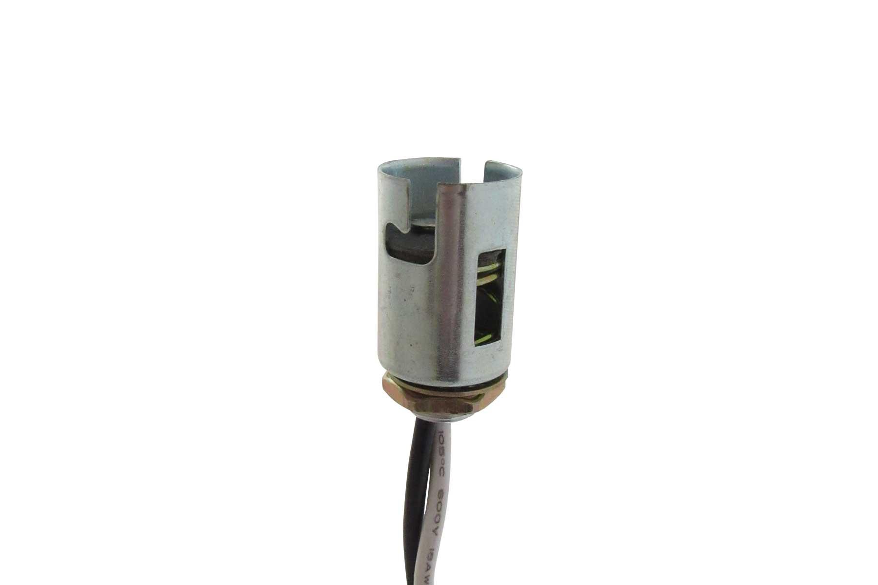 Miniature Candelabra Bayonet Base Socket