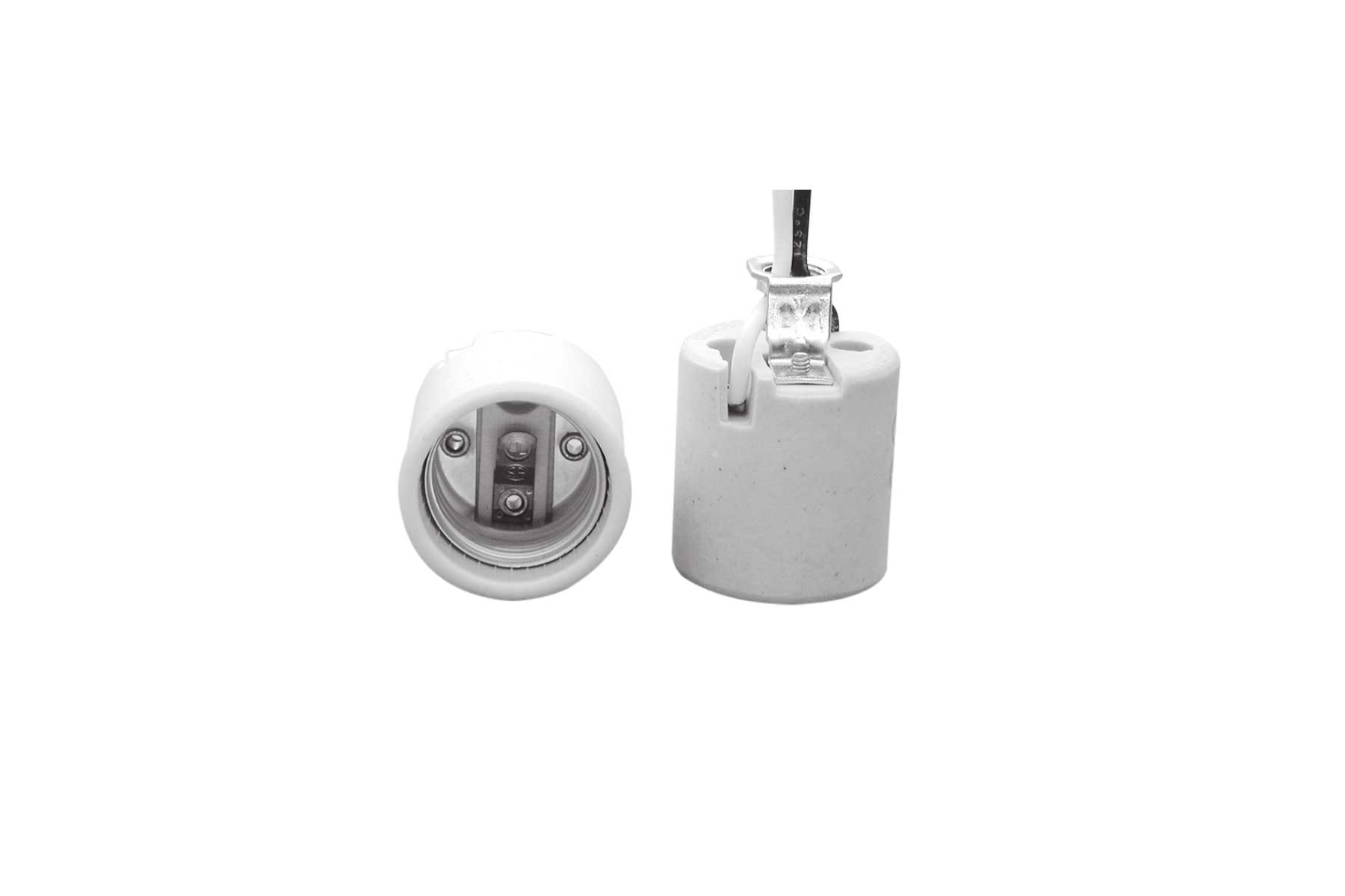 Porcelain Keyless Incandescent Light Socket