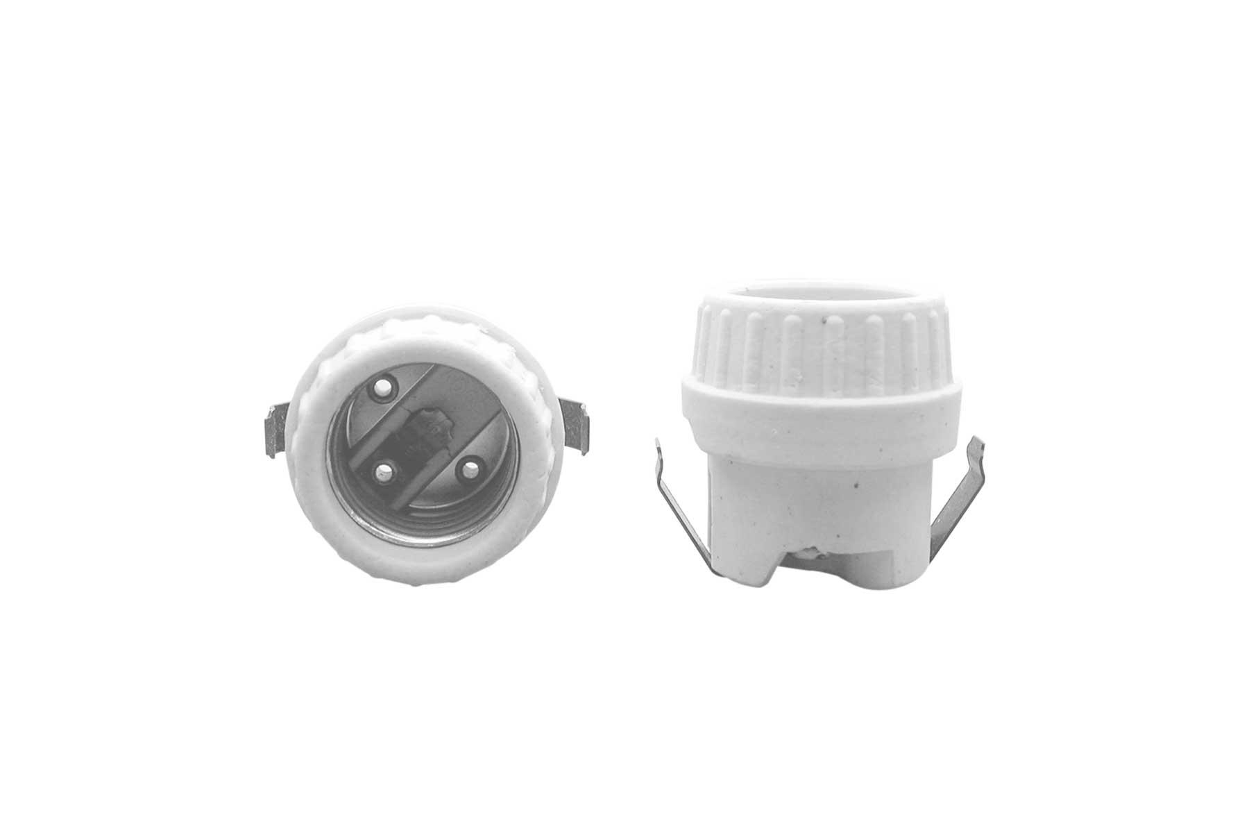 4KV Pulse Rated Medium Base Porcelain Incandescent Light Socket
