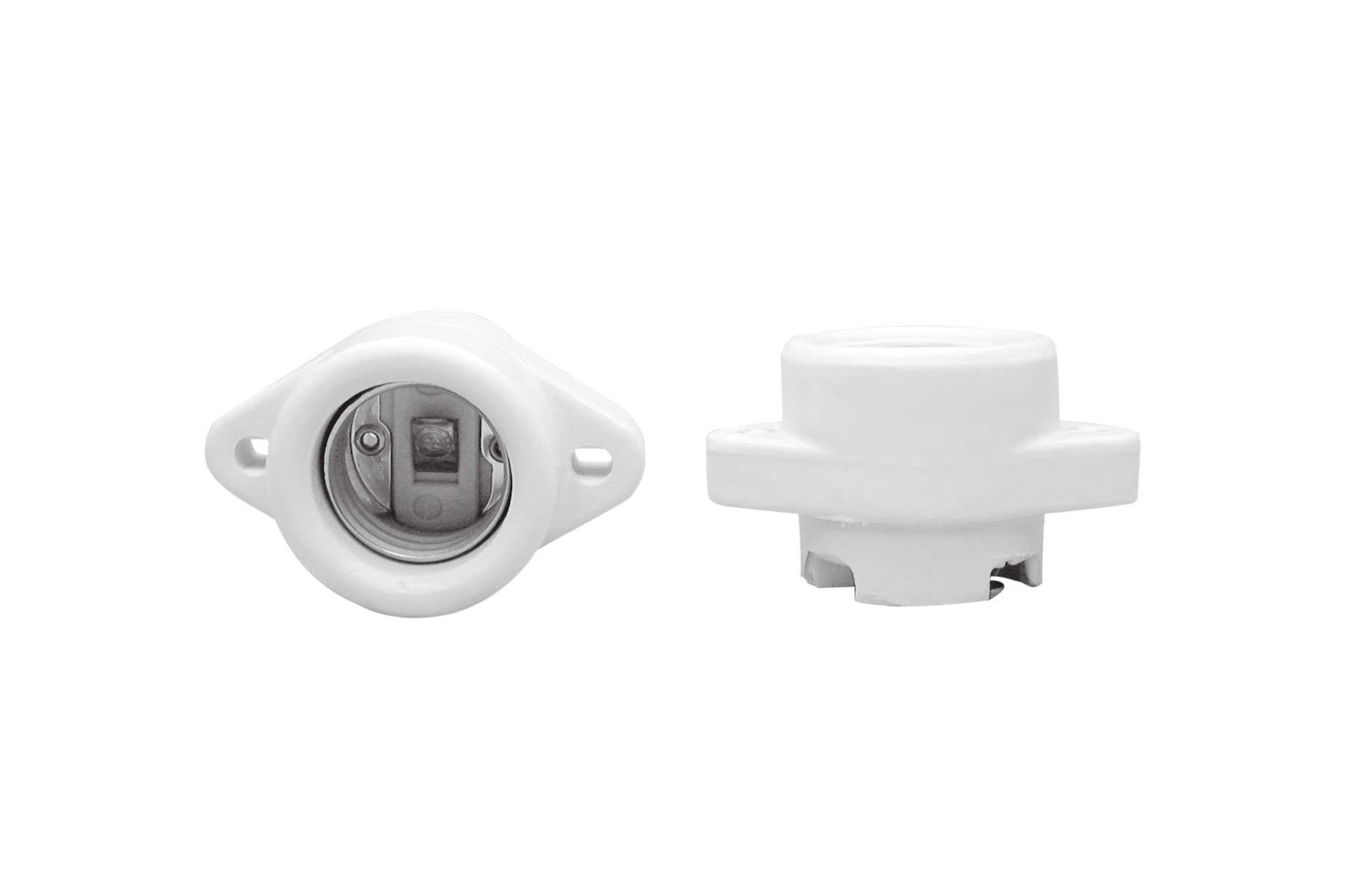 Porcelain Keyless Incandescent Light Socket for Commercial Reflector Units