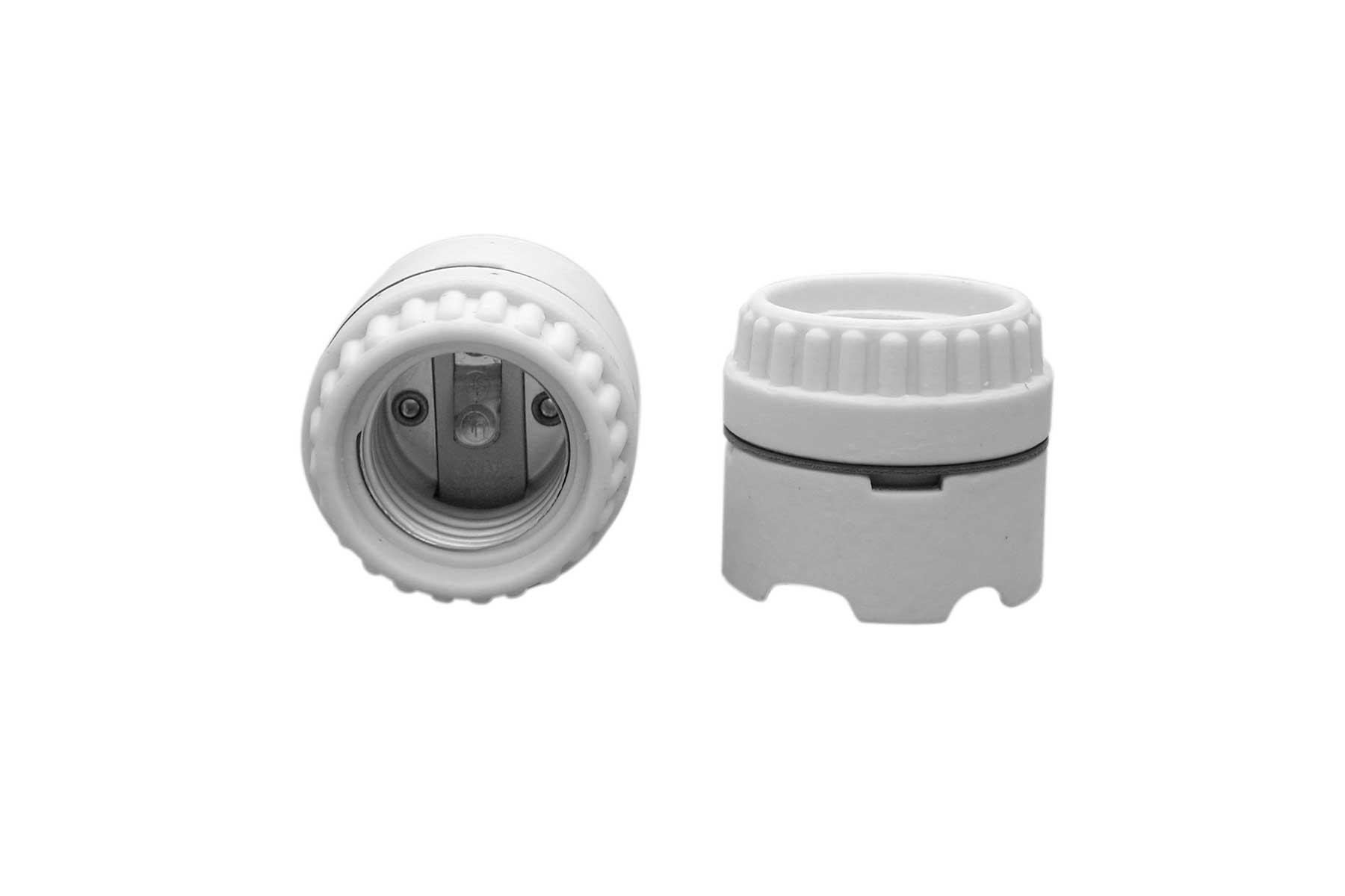 Porcelain Keyless Sign Incandescent Light Socket with Screw Terminals