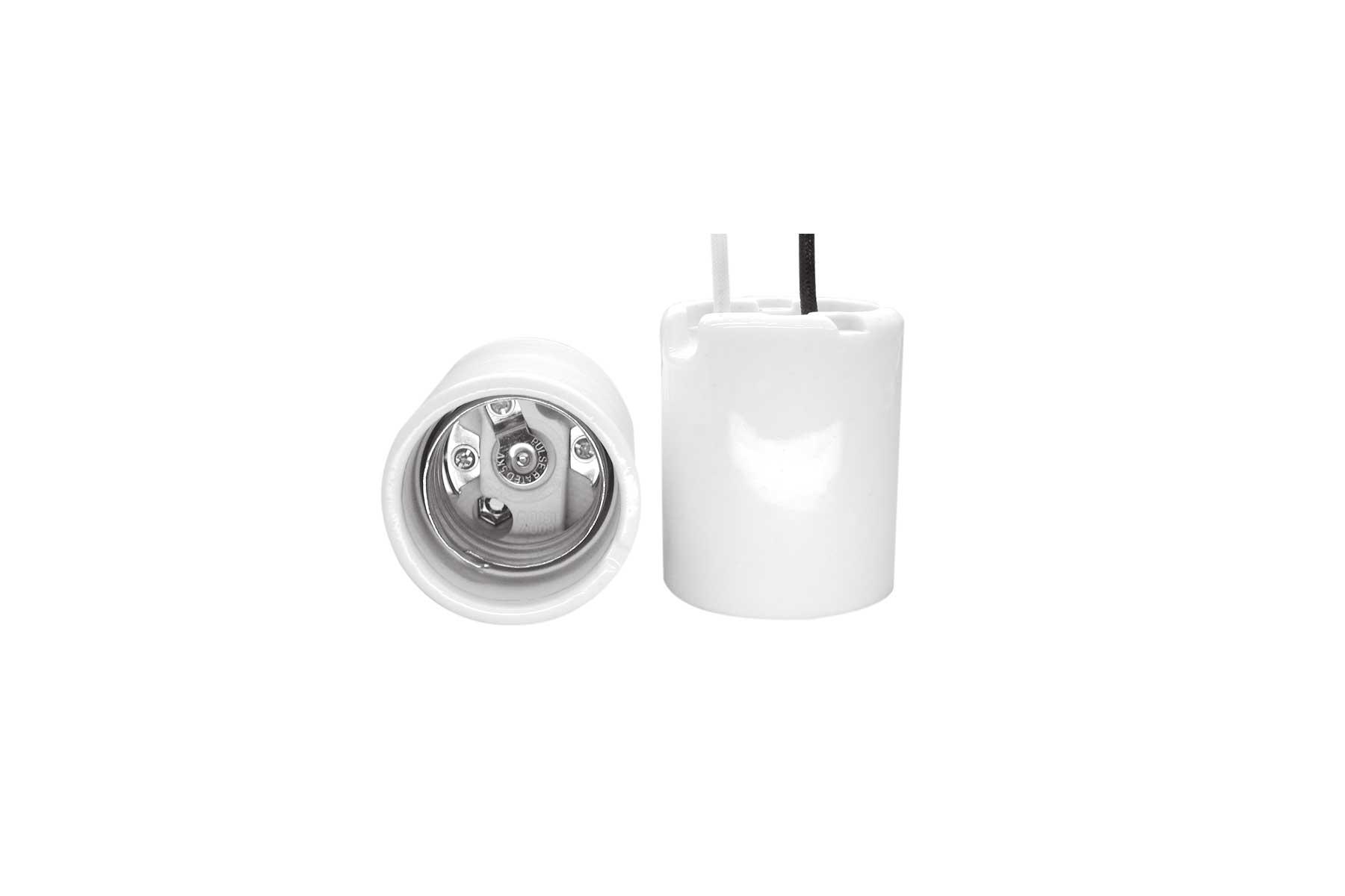 5KV Pulse Rated Mogul Base Position Oriented Porcelain Incandescent Light Socket