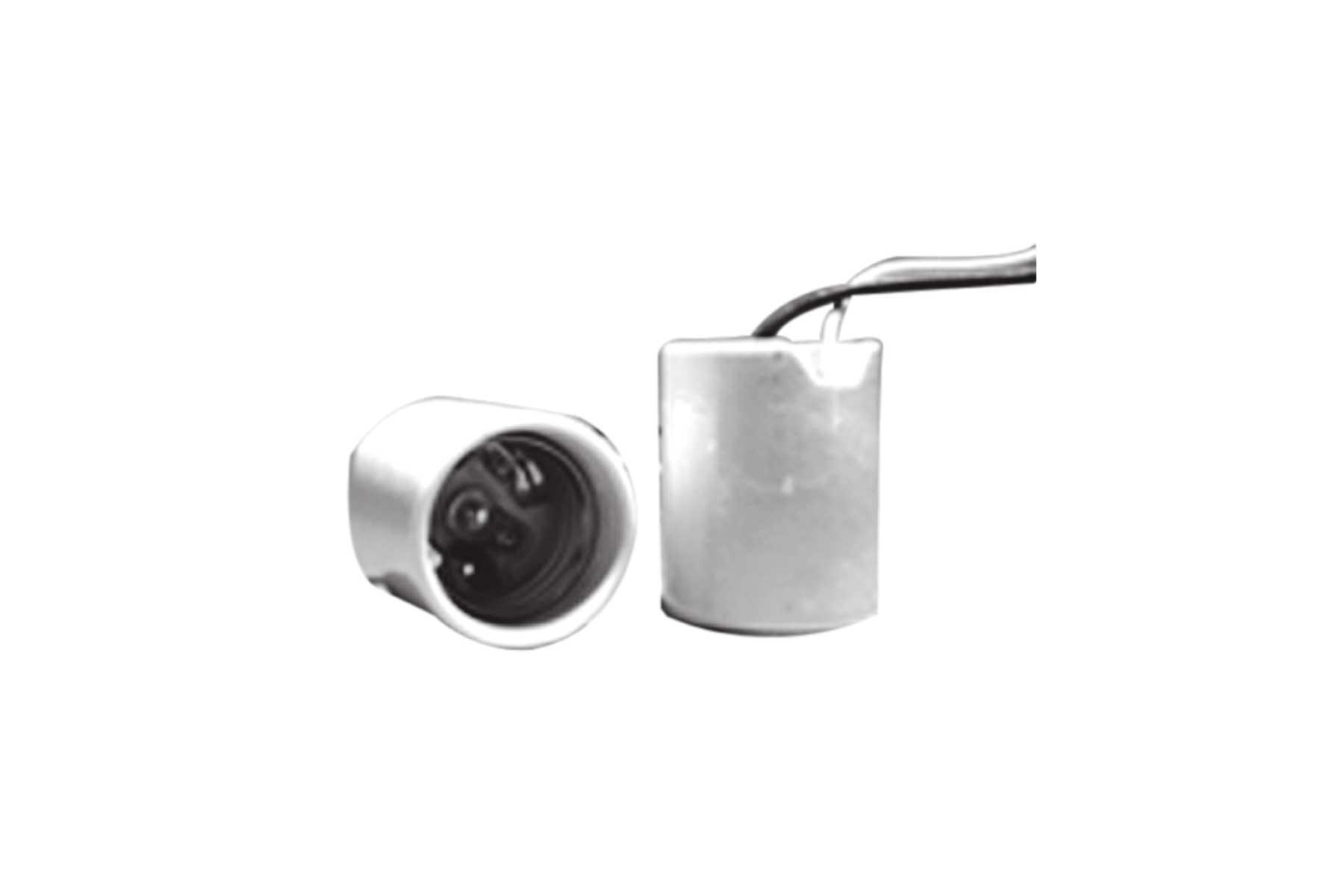 5KV Pulse Rated Mogul Base Porcelain Incandescent Light Socket with Pal Nuts